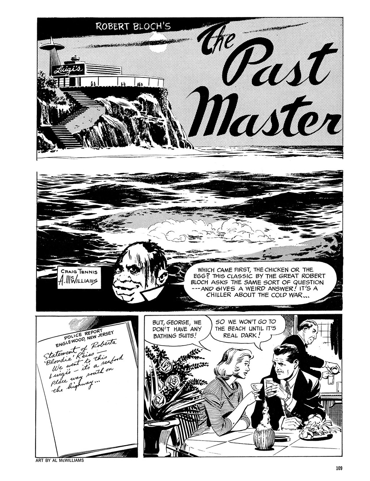 Read online Eerie Archives comic -  Issue # TPB 3 - 110