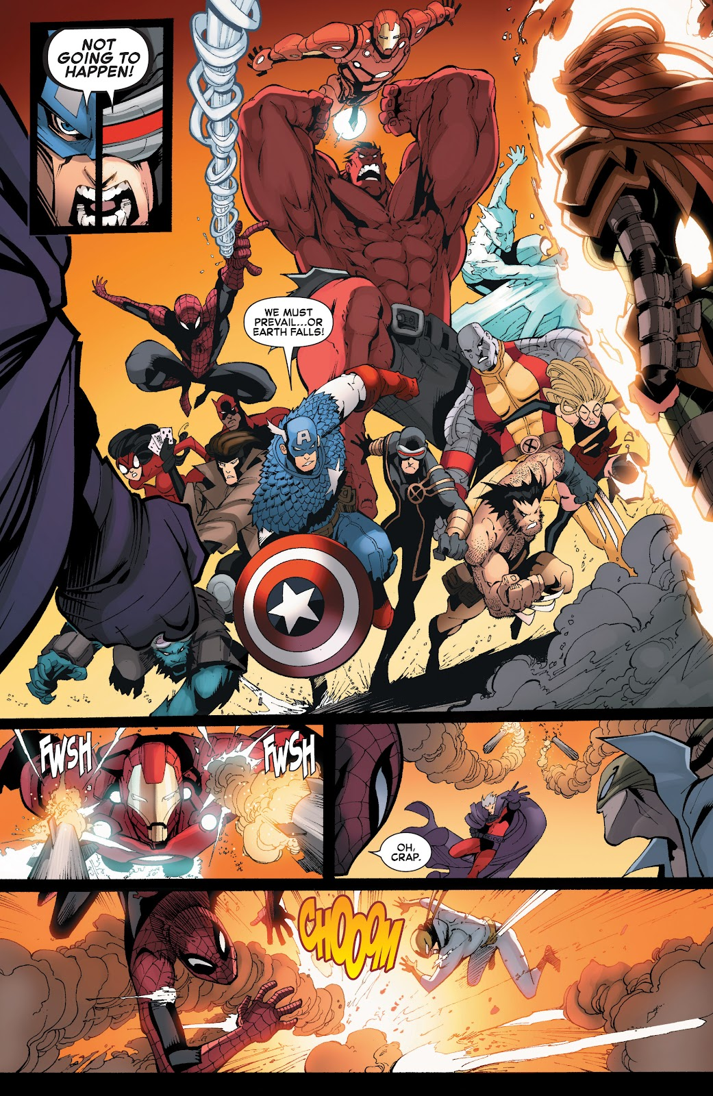 Read online What If? AvX comic -  Issue #4 - 8