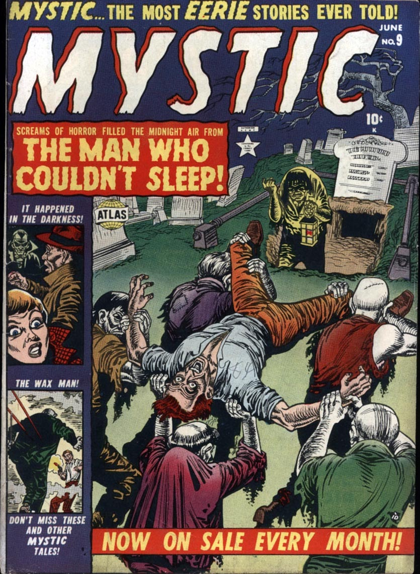 Mystic (1951) issue 9 - Page 1