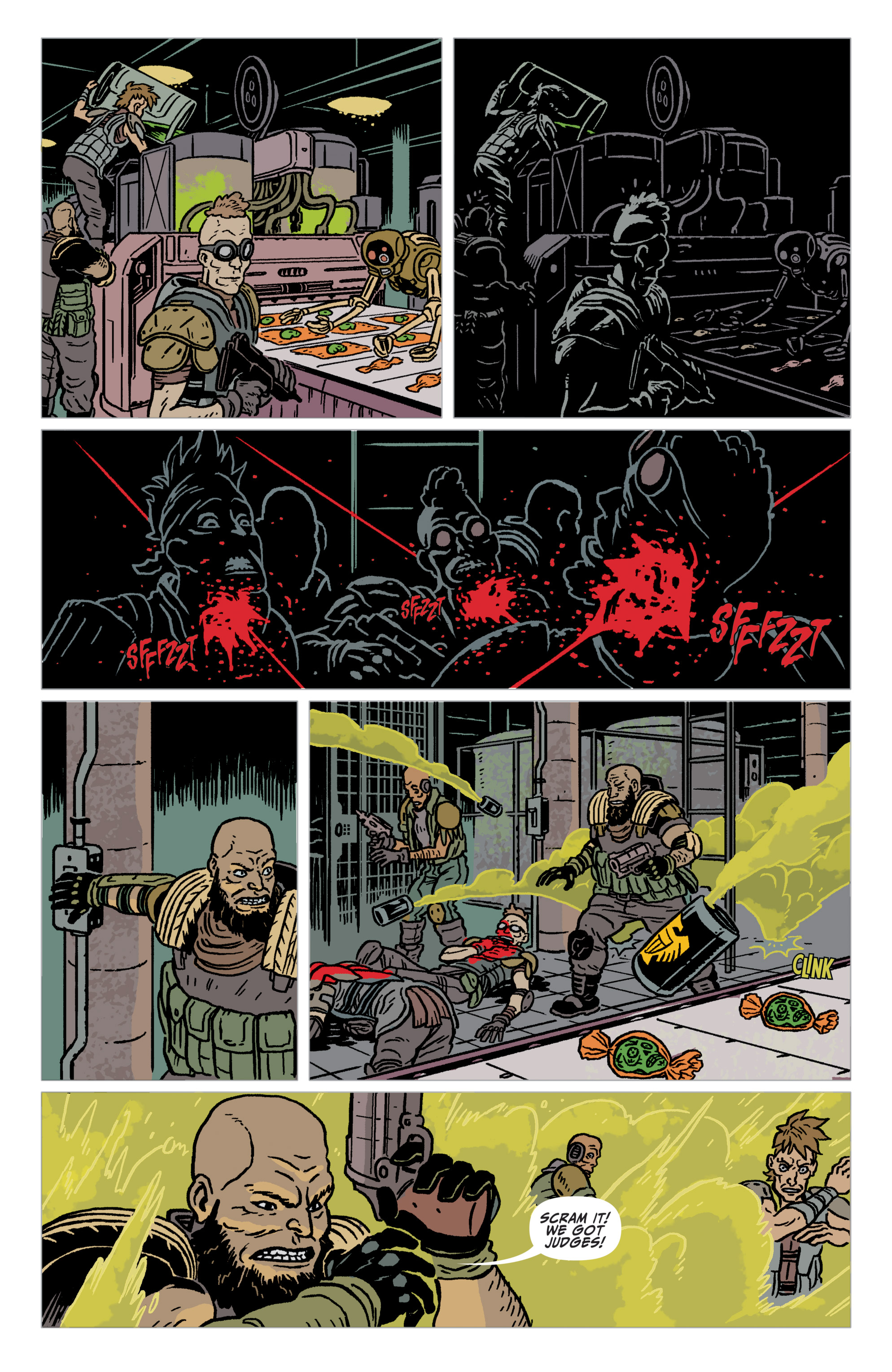 Read online Judge Dredd: The Blessed Earth comic -  Issue #2 - 12