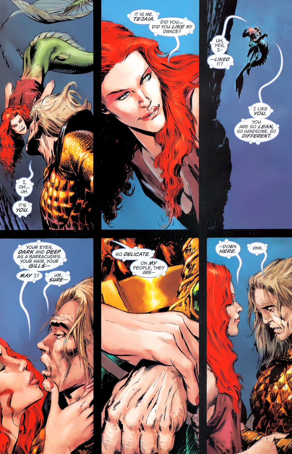 Read online Aquaman: Sword of Atlantis comic -  Issue #42 - 7