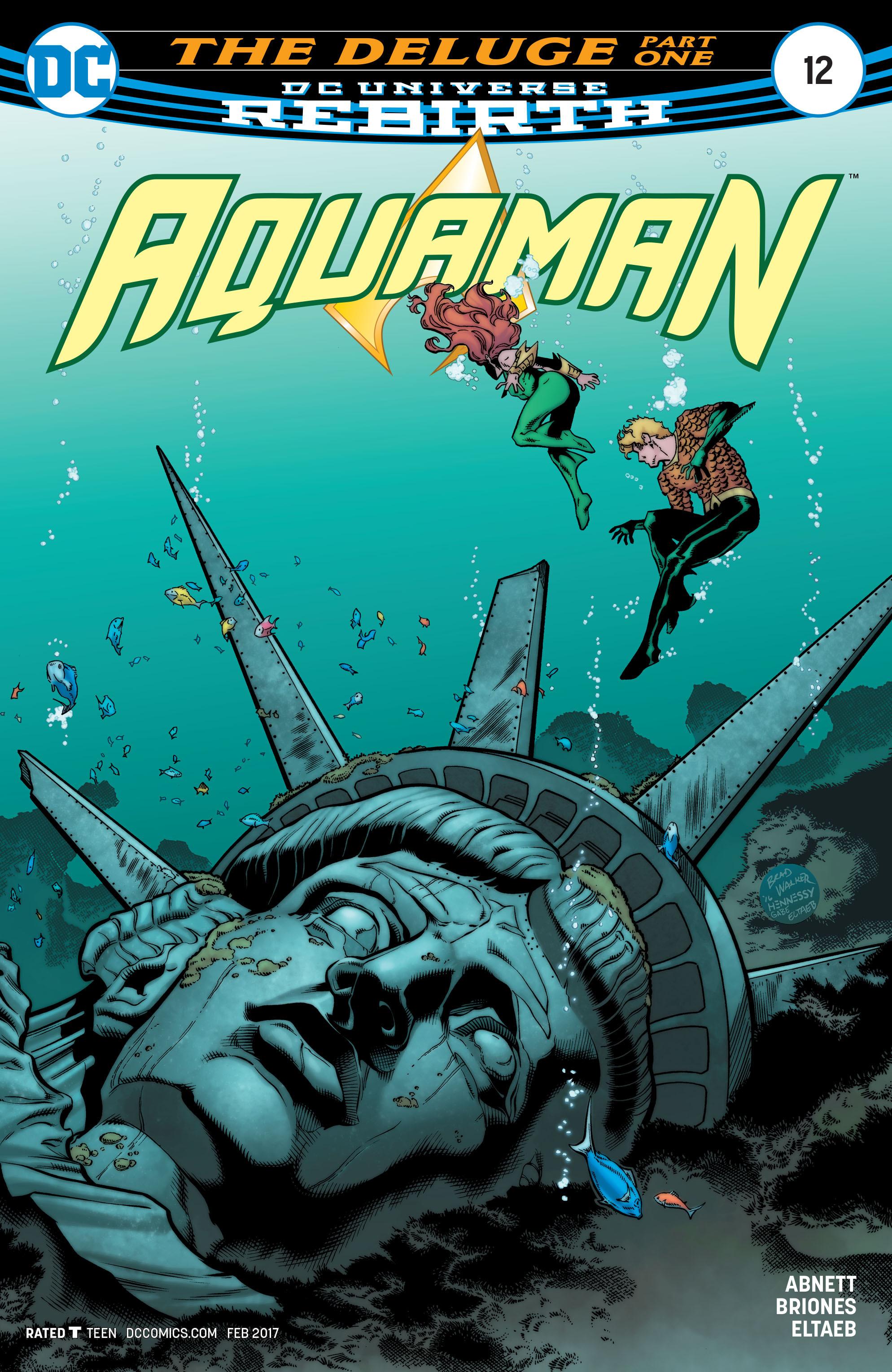 Read online Aquaman (2016) comic -  Issue #12 - 1