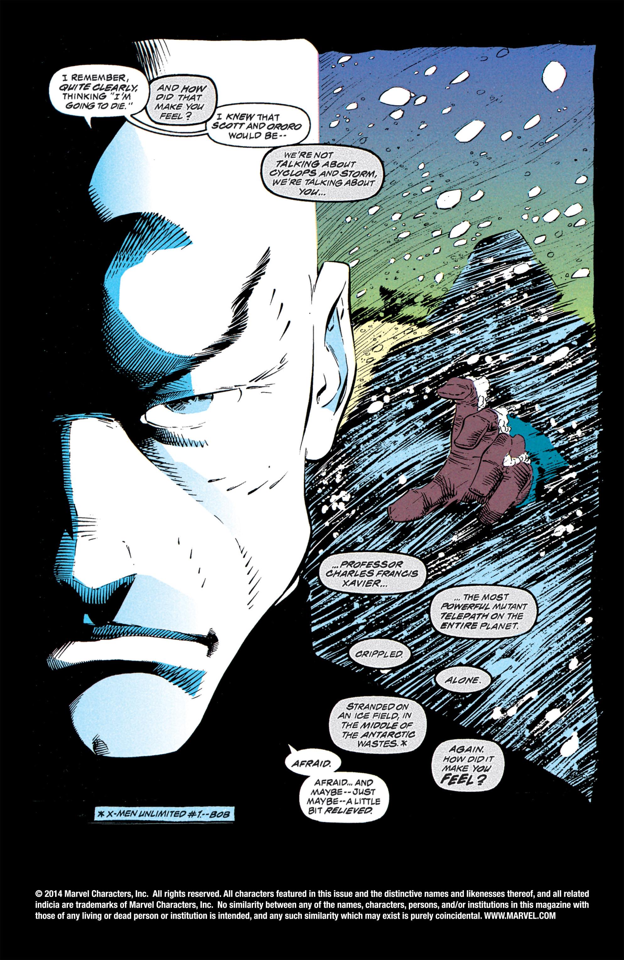 Read online Uncanny X-Men (1963) comic -  Issue #309 - 2
