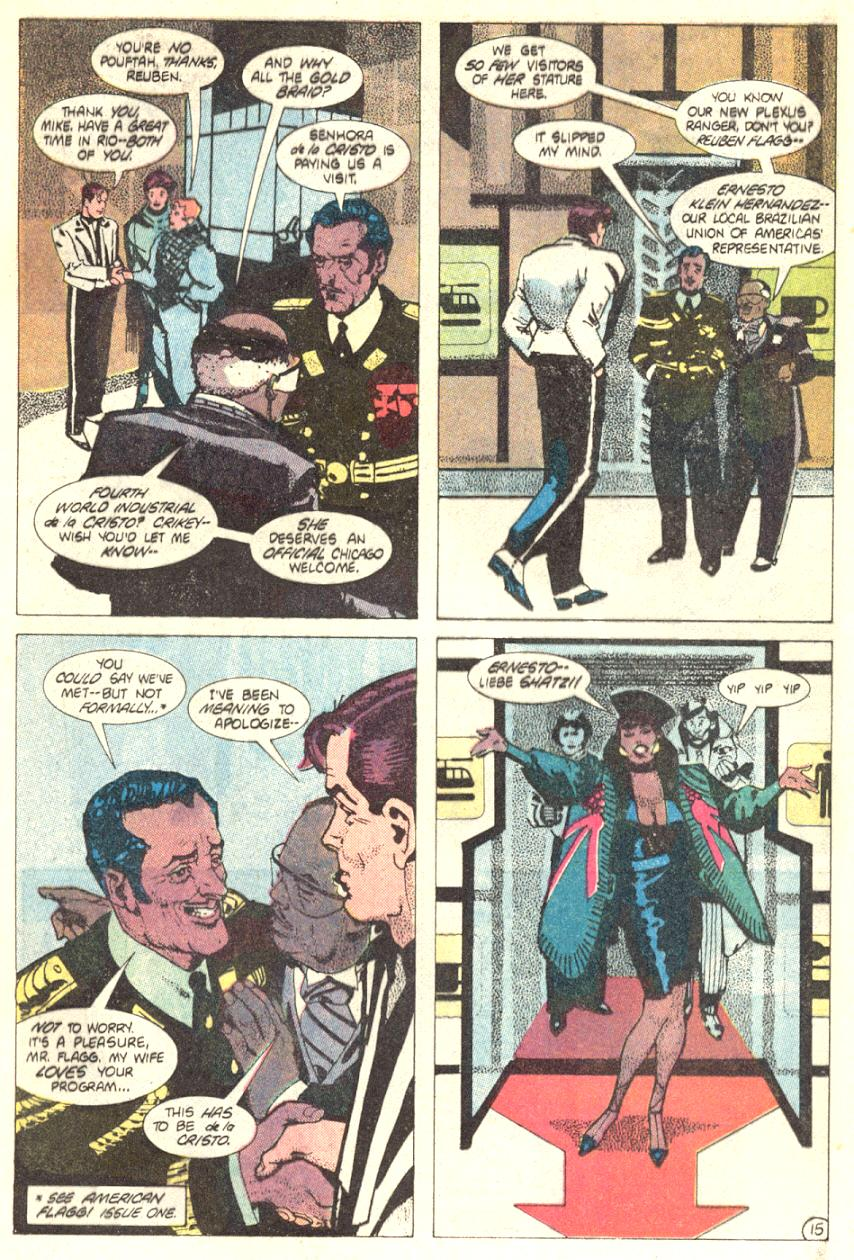 Read online American Flagg! comic -  Issue #2 - 16