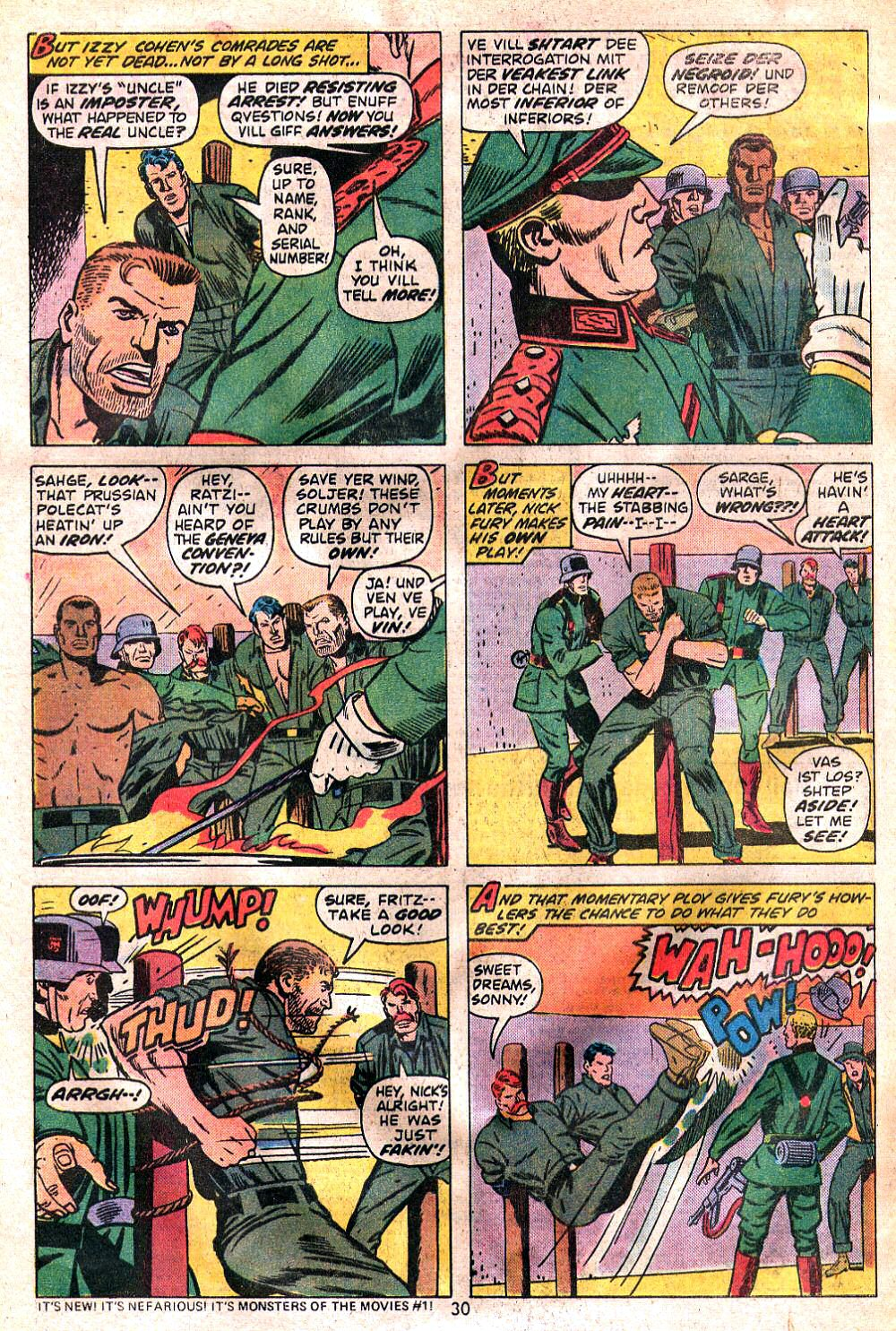 Read online Sgt. Fury comic -  Issue #120 - 32