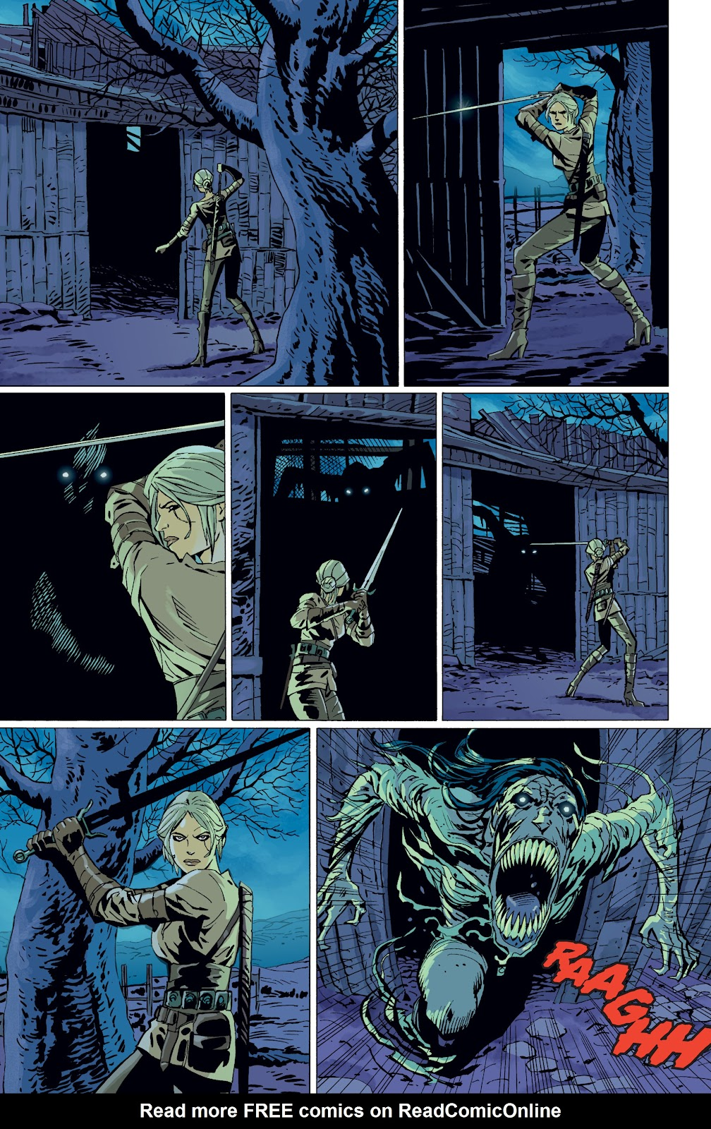 Read online The Witcher Omnibus comic -  Issue # TPB (Part 4) - 89