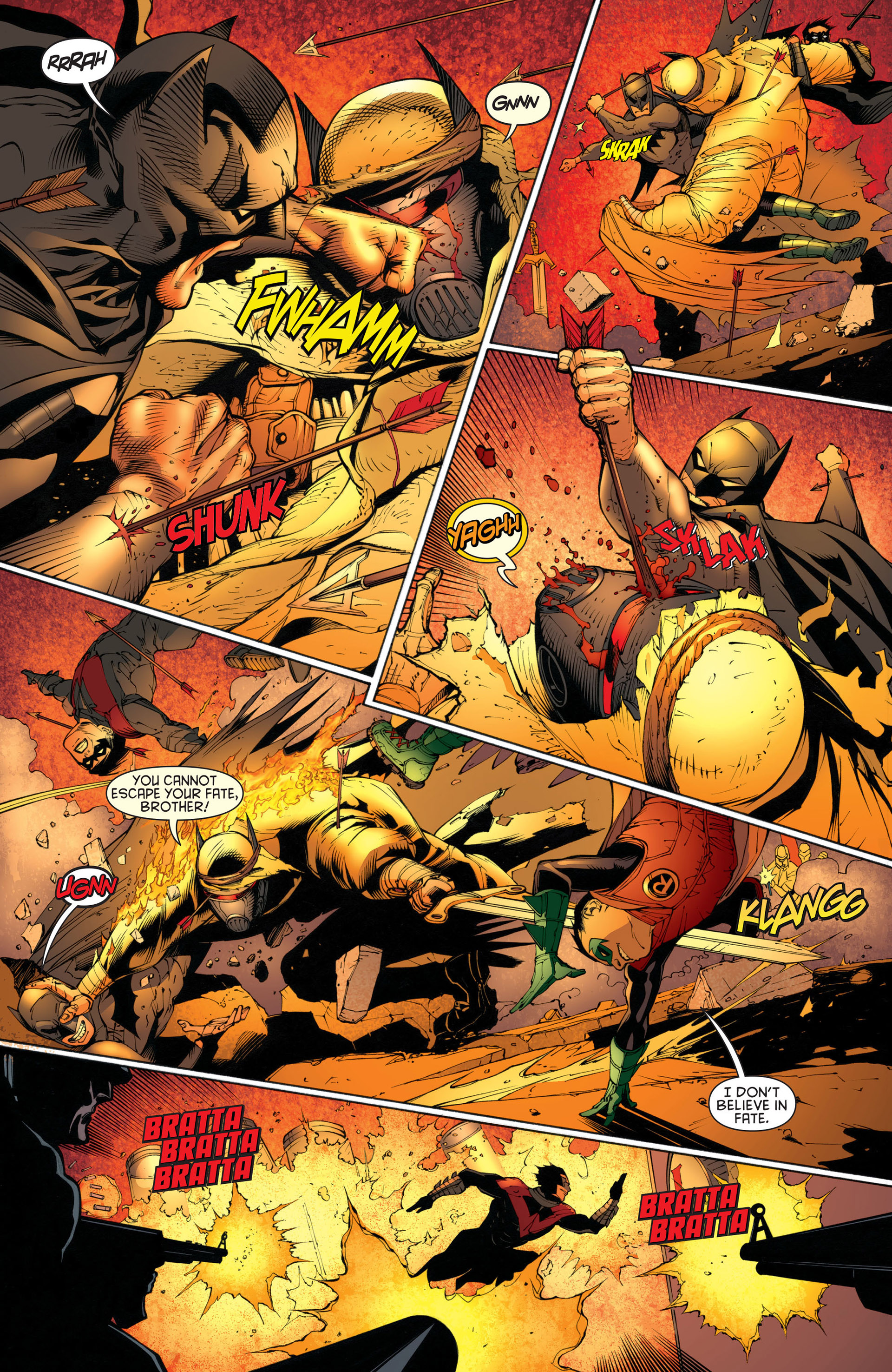 Read online Batman and Robin (2011) comic -  Issue #23 - Batman and Nightwing - 12