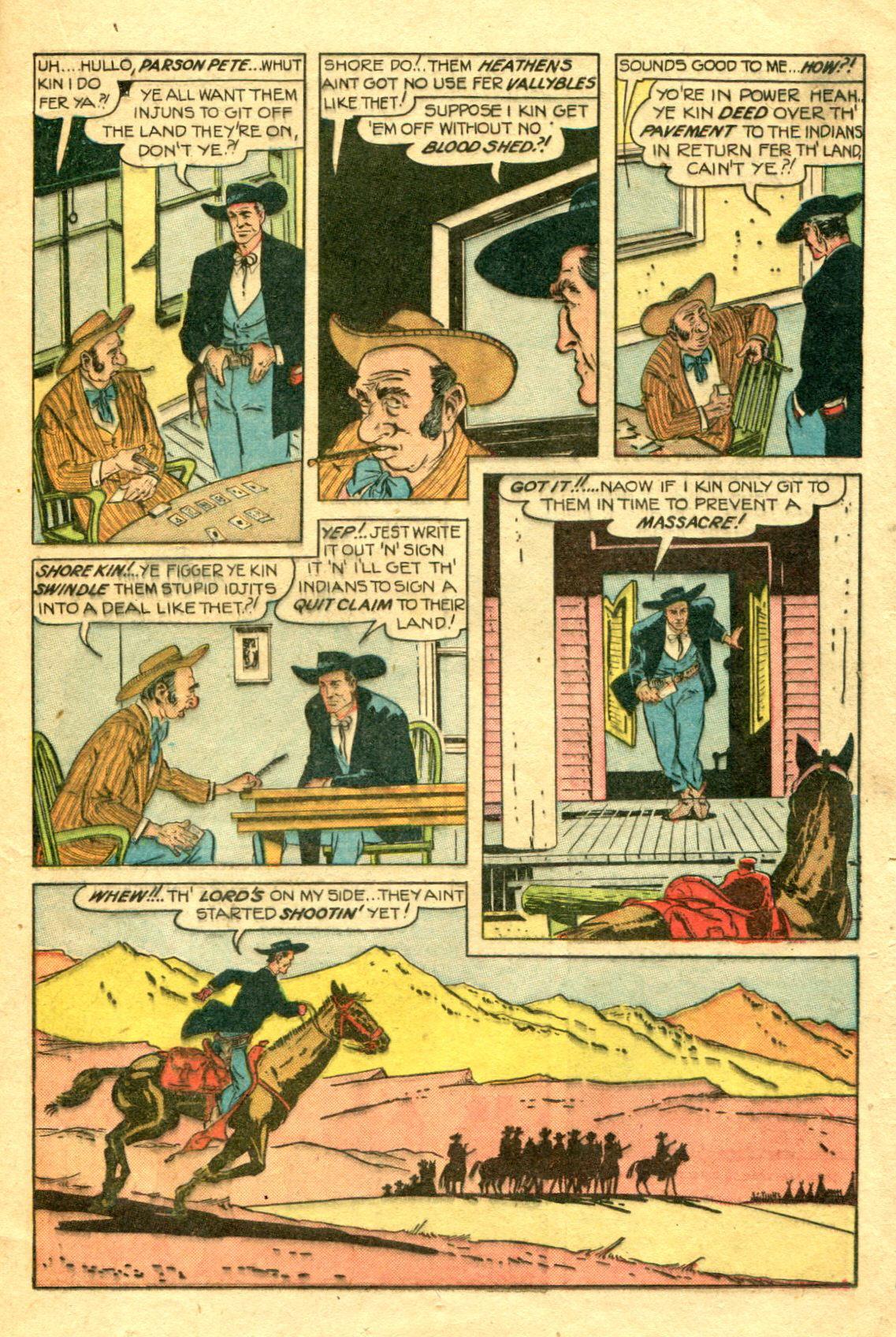 Read online Shadow Comics comic -  Issue #75 - 20