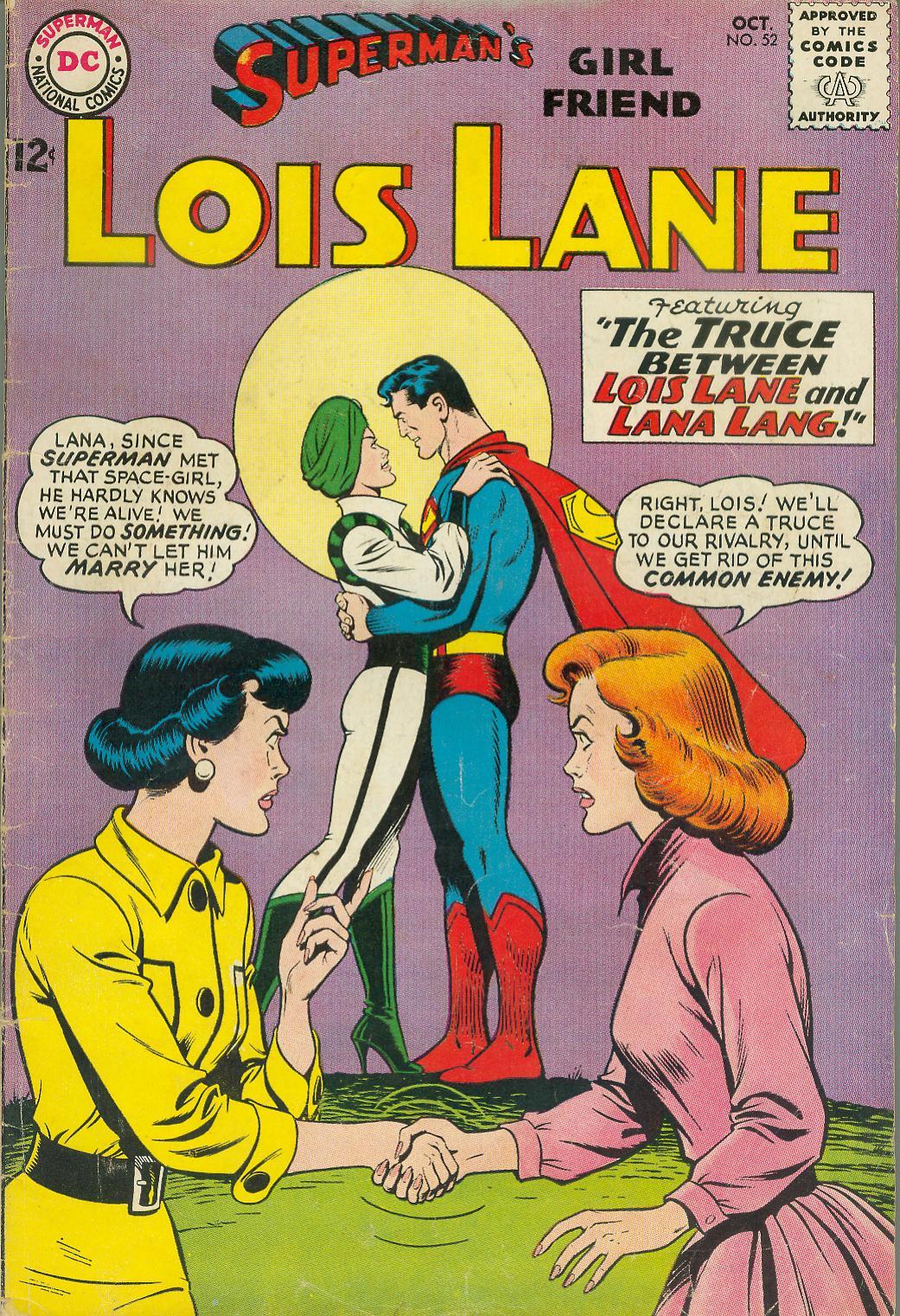 Supermans Girl Friend, Lois Lane 52 Page 1