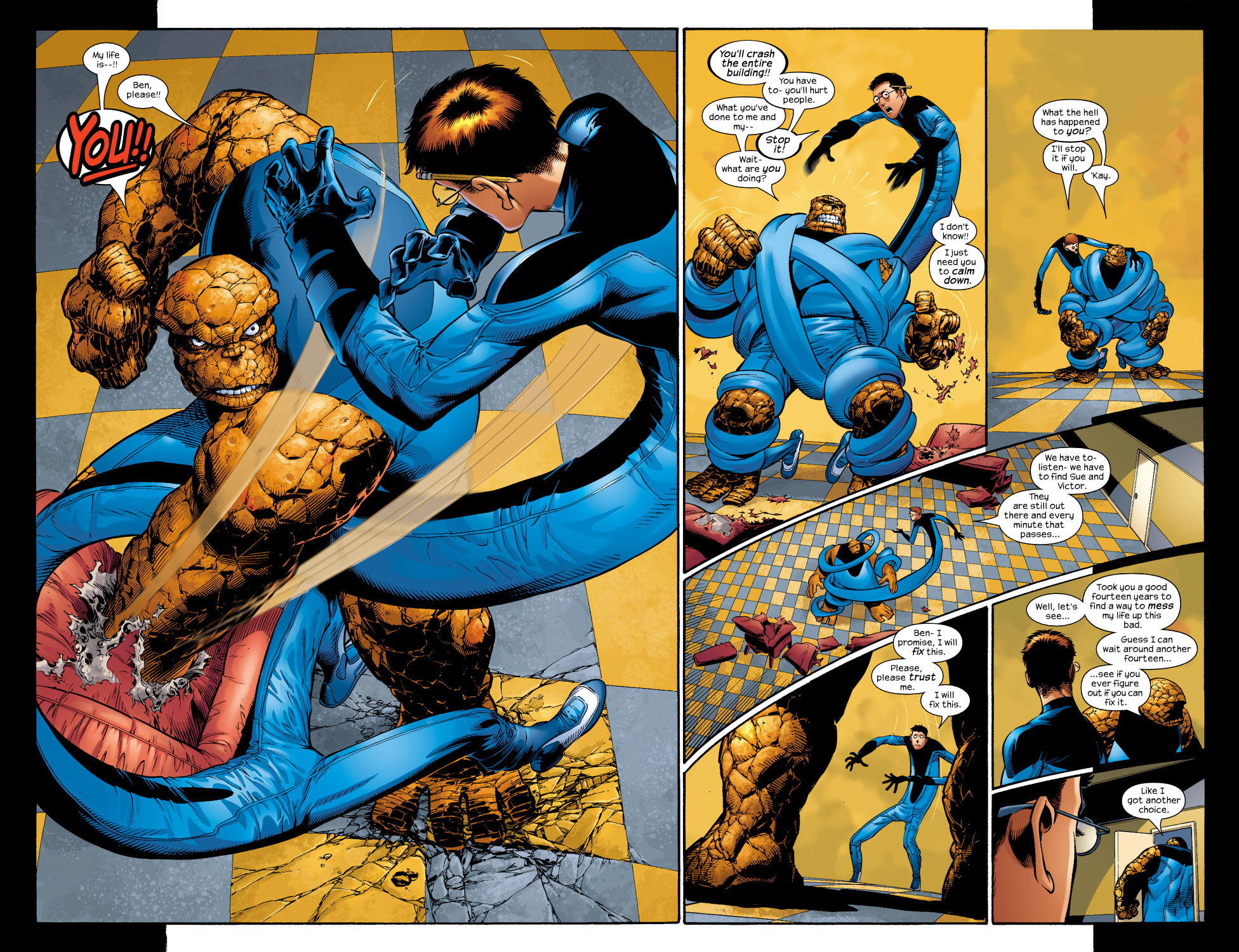 Read online Ultimate Fantastic Four (2004) comic -  Issue #4 - 8