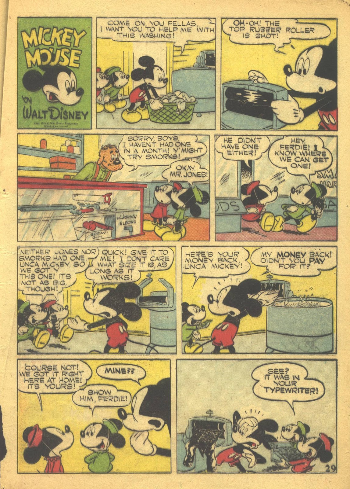Walt Disney's Comics and Stories issue 41 - Page 31