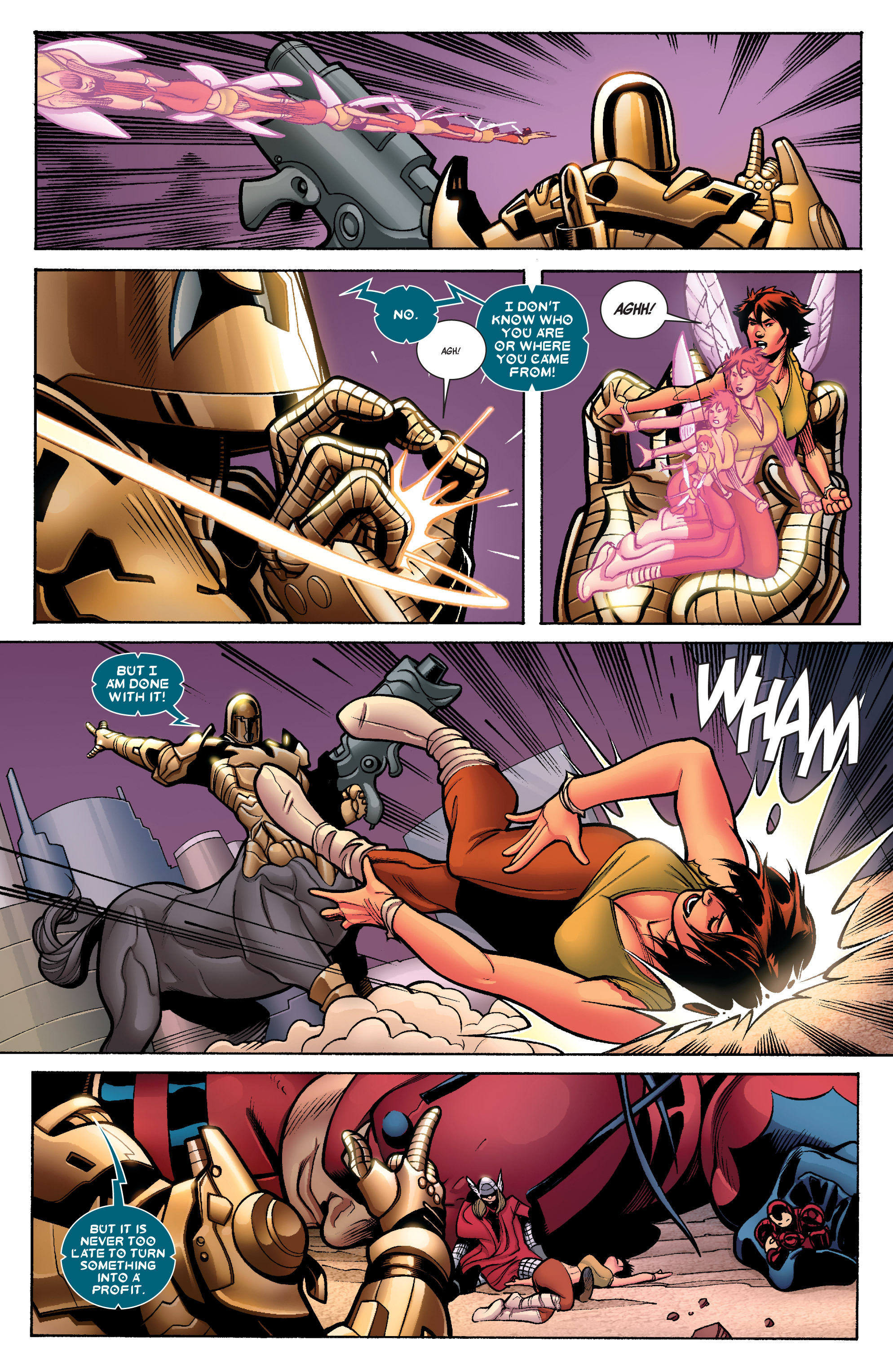 Read online Avengers (2010) comic -  Issue #33 - 11