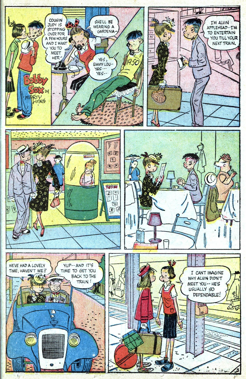 Read online Famous Funnies comic -  Issue #184 - 31