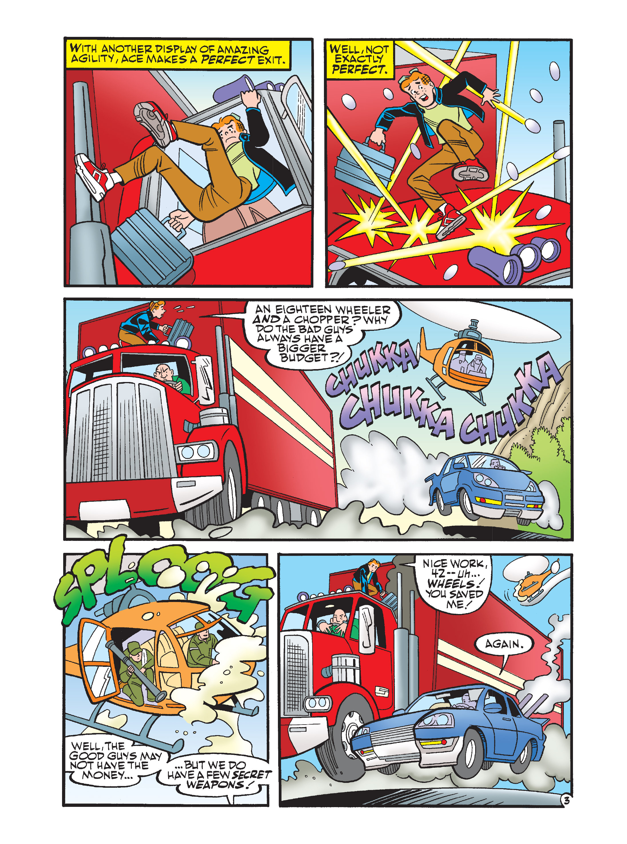 Read online Archie's Funhouse Double Digest comic -  Issue #12 - 4