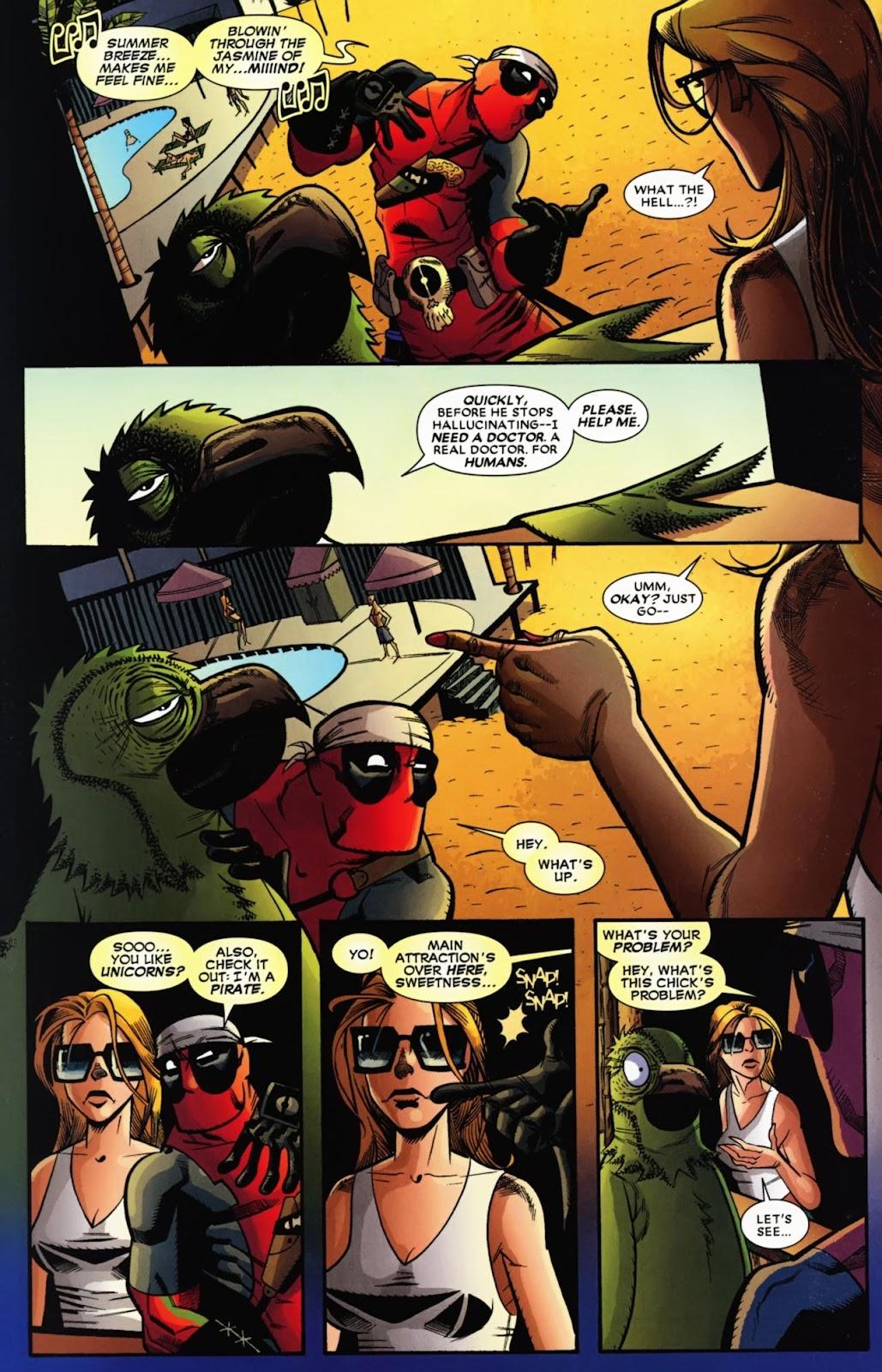 Read online Deadpool (2008) comic -  Issue #13 - 21