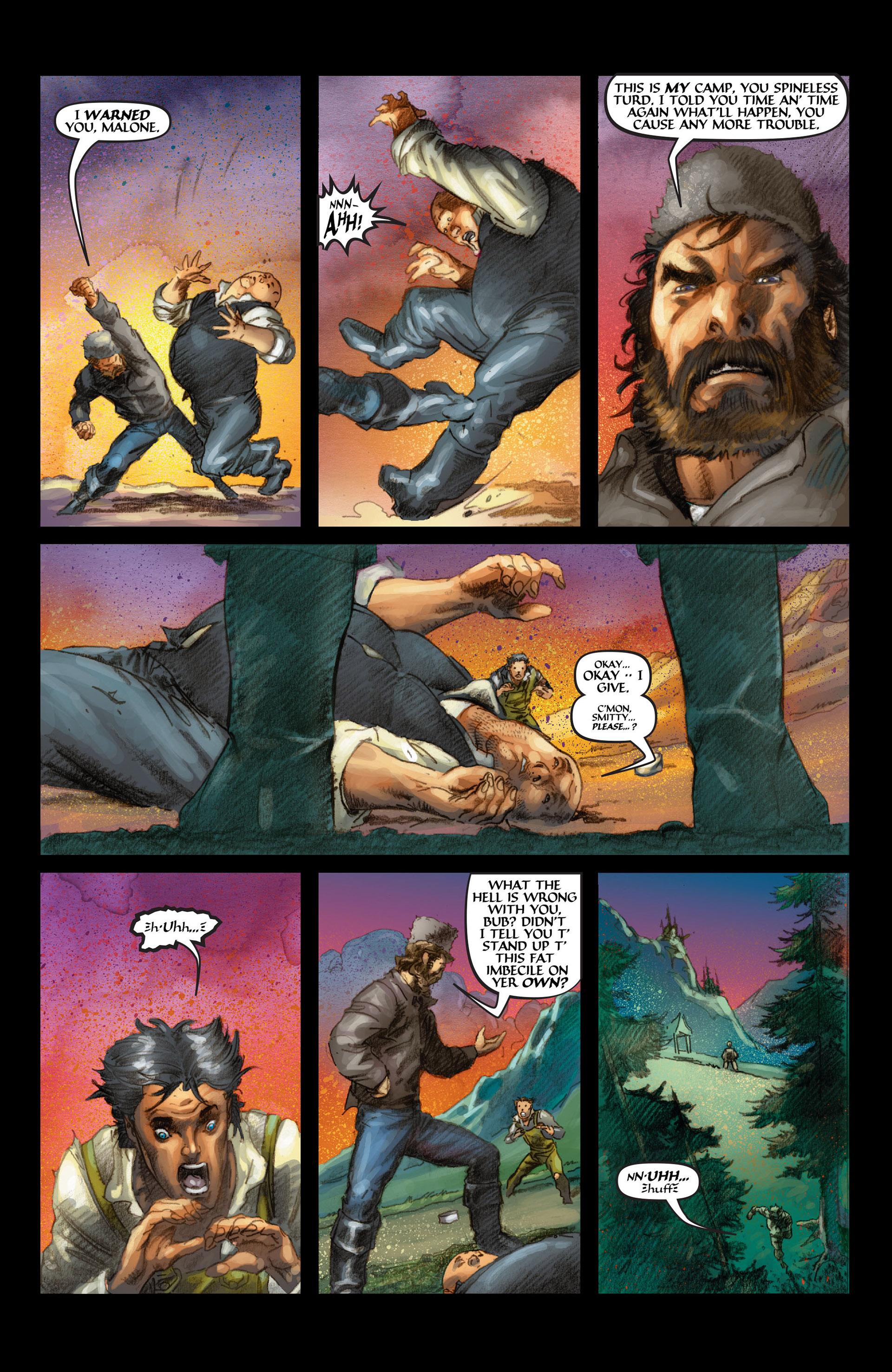 Read online Wolverine: The Origin comic -  Issue #4 - 23