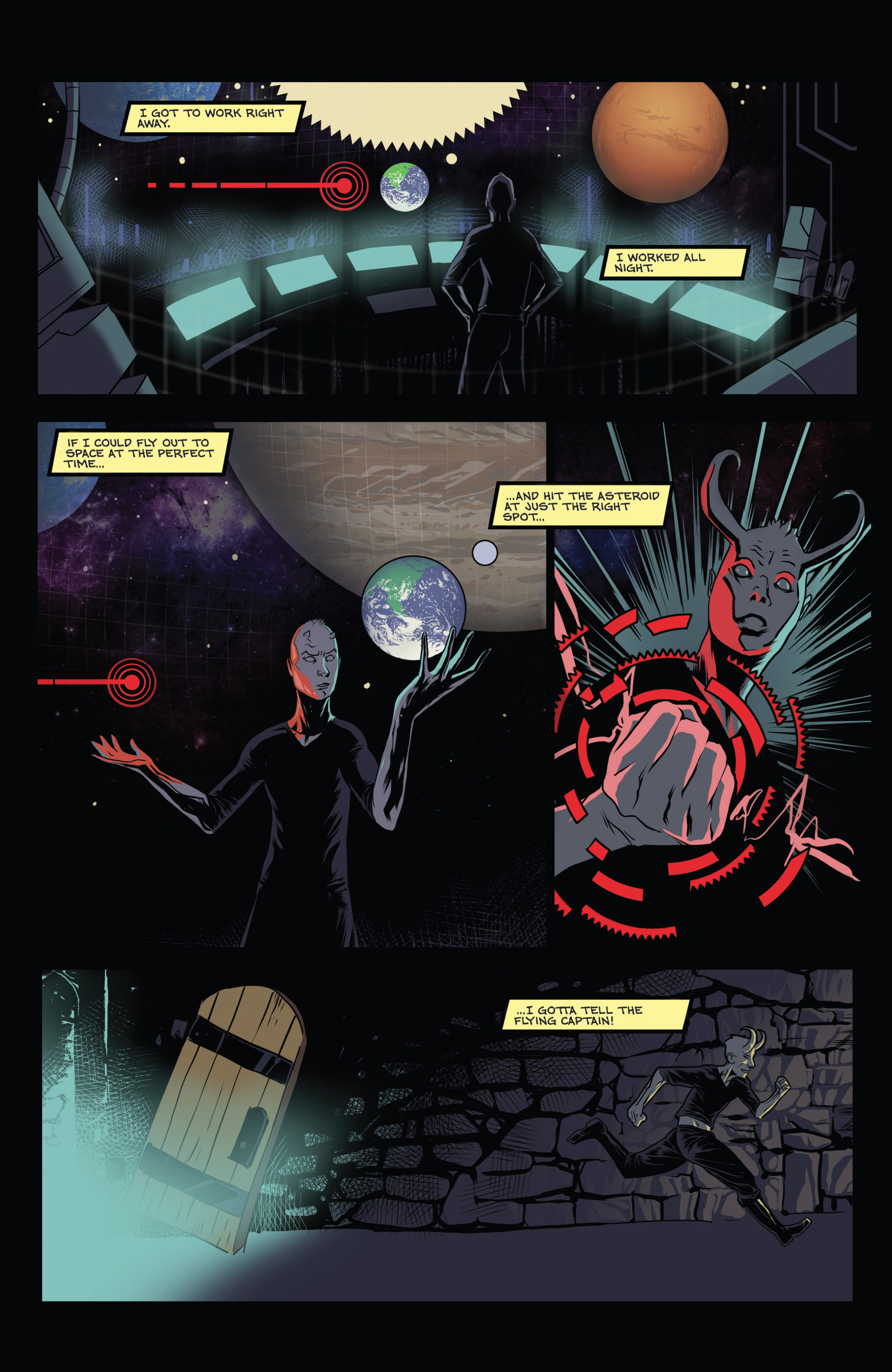 Read online Amazing Forest (2016) comic -  Issue #5 - 7