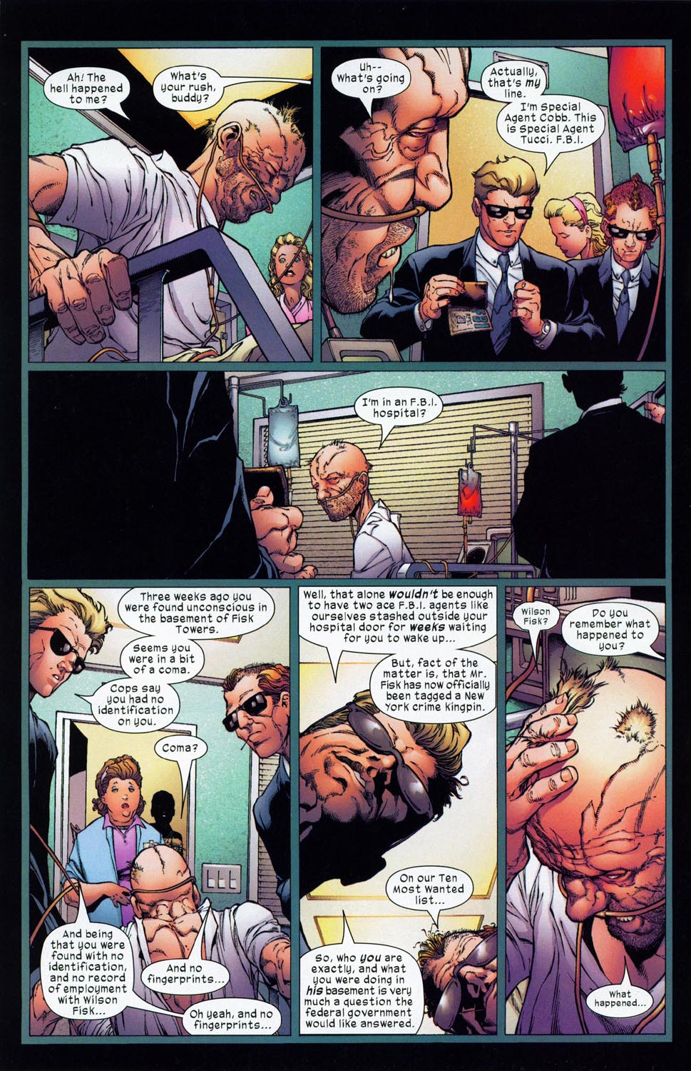Read online Ultimate Six comic -  Issue #1 - 3