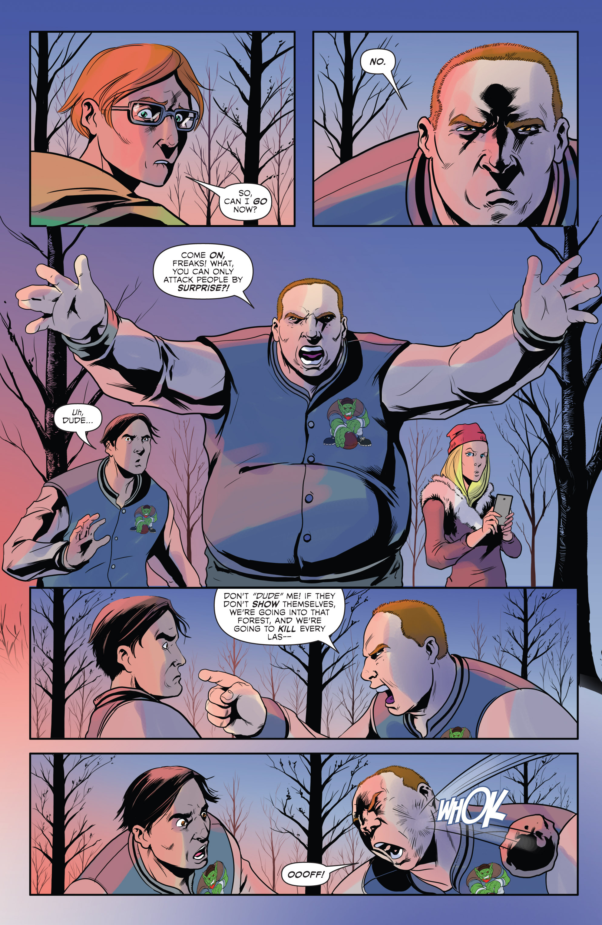 Read online Hoax Hunters (2012) comic -  Issue # TPB 2 - 7