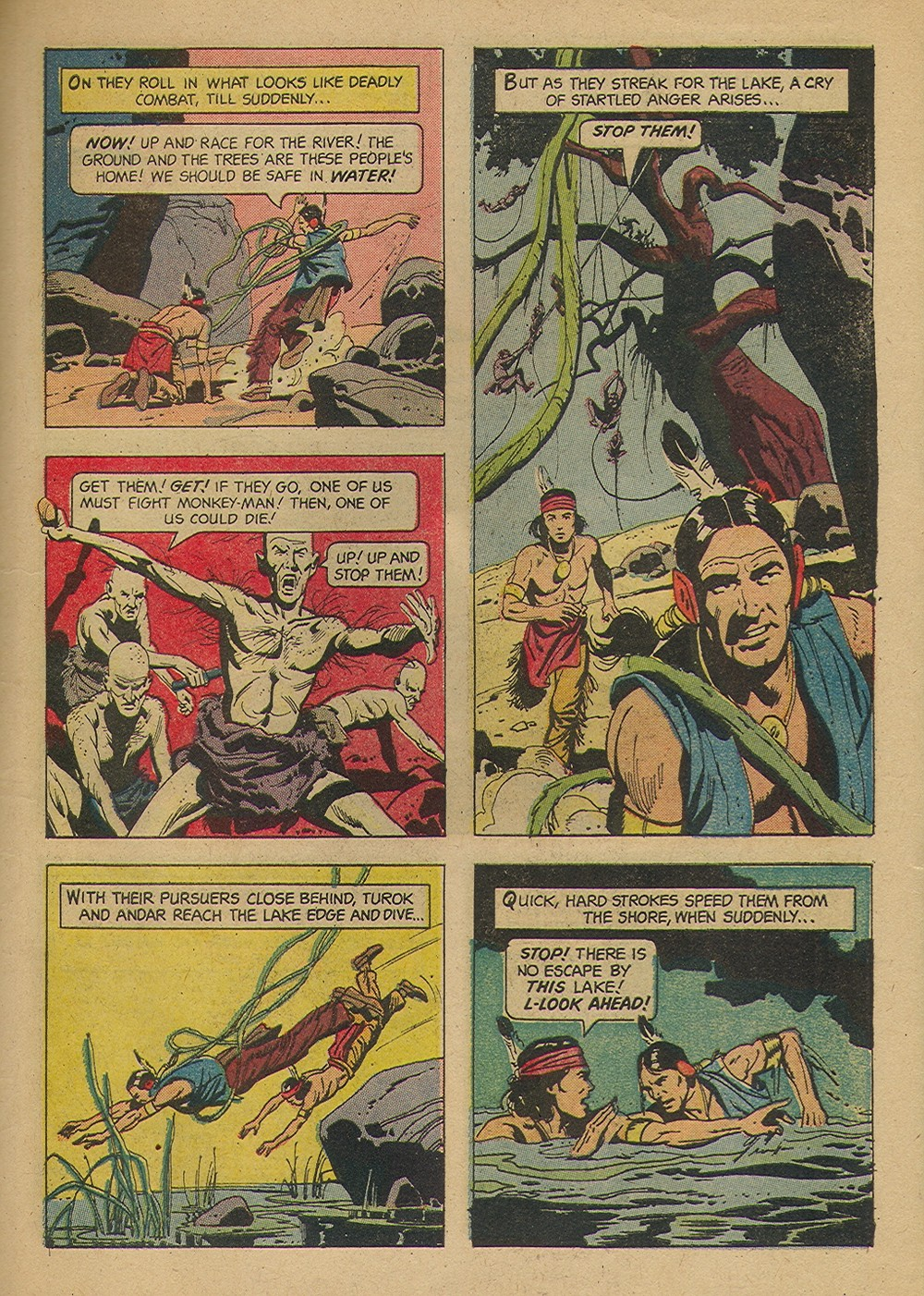 Read online Turok, Son of Stone comic -  Issue #39 - 27