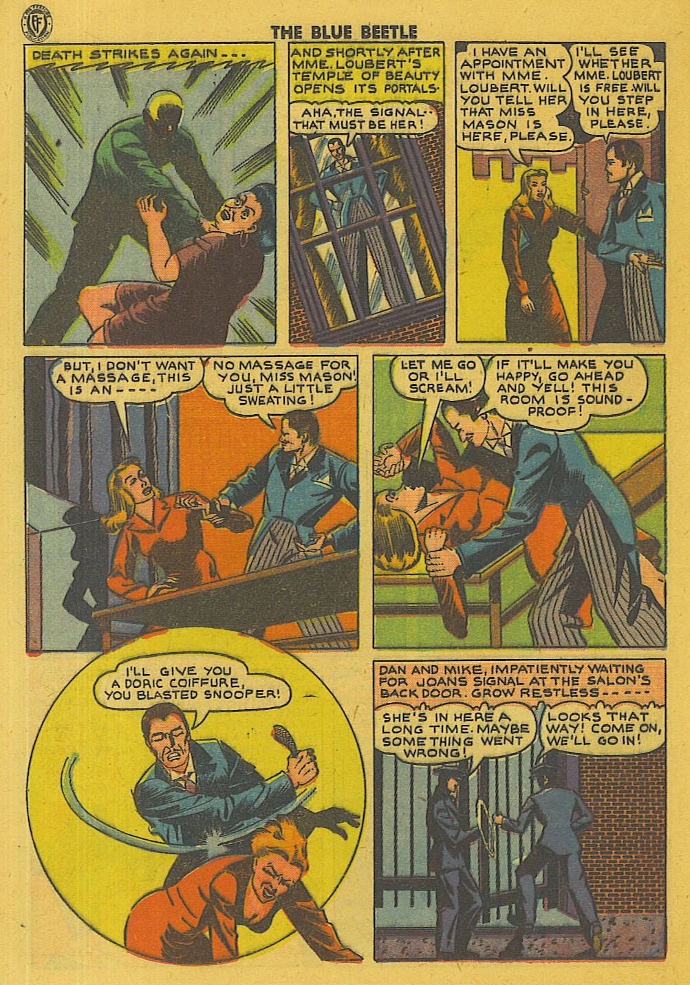 The Blue Beetle issue 35 - Page 27