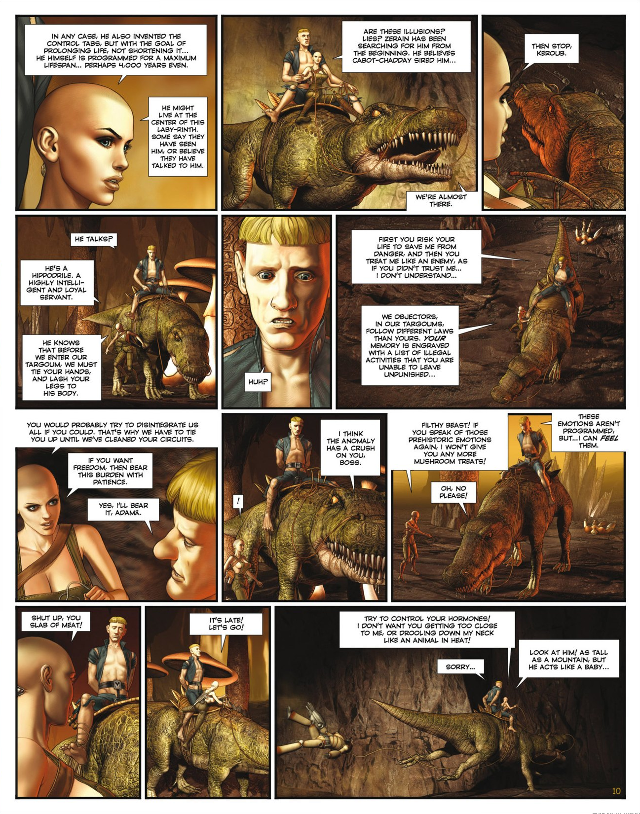 Read online Megalex (2014) comic -  Issue #2 - 12