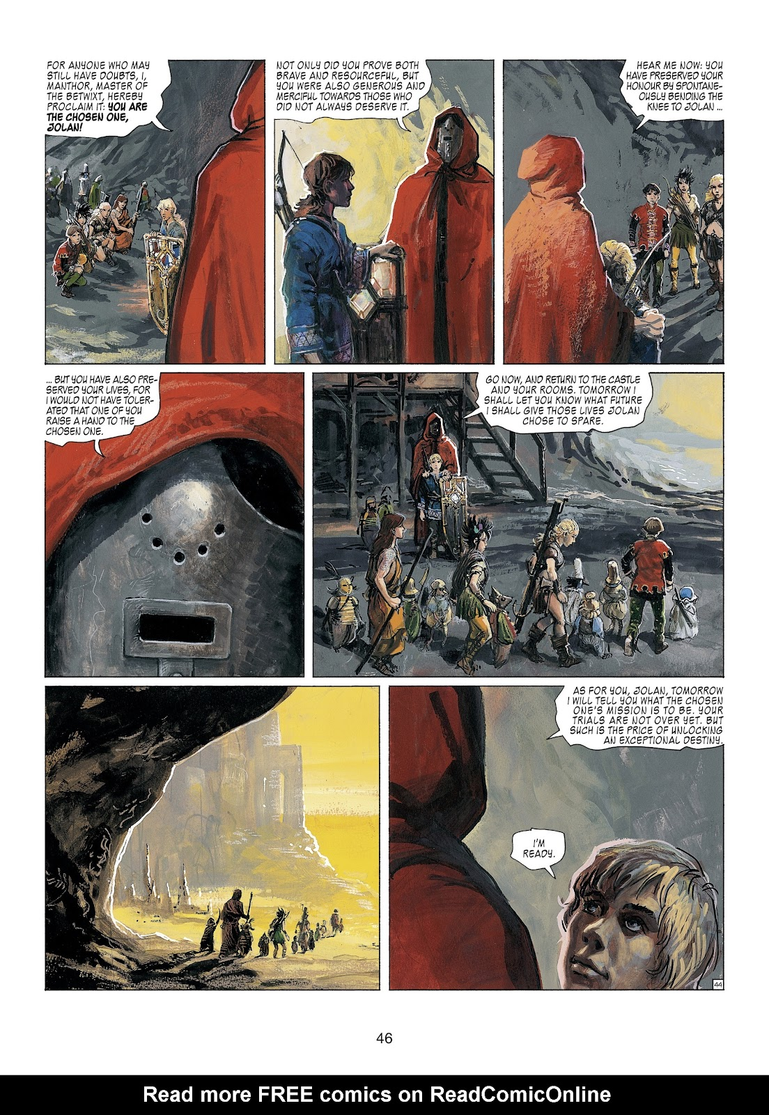Read online Thorgal comic -  Issue #23 - 48
