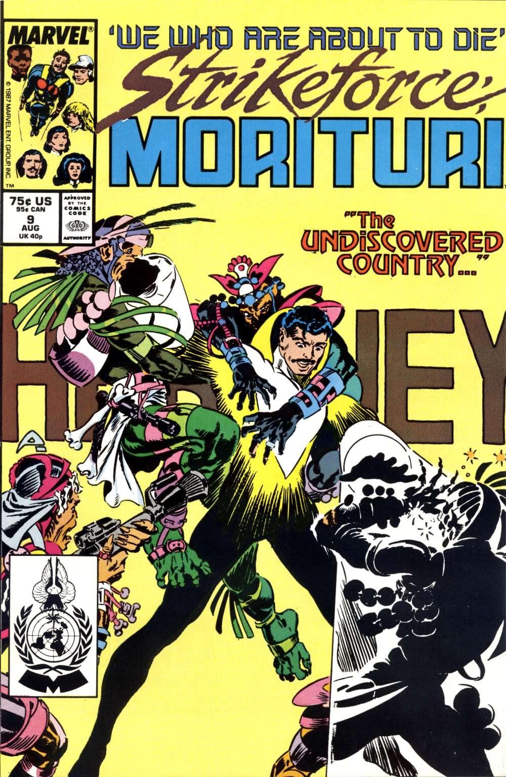 Strikeforce: Morituri 9 Page 1