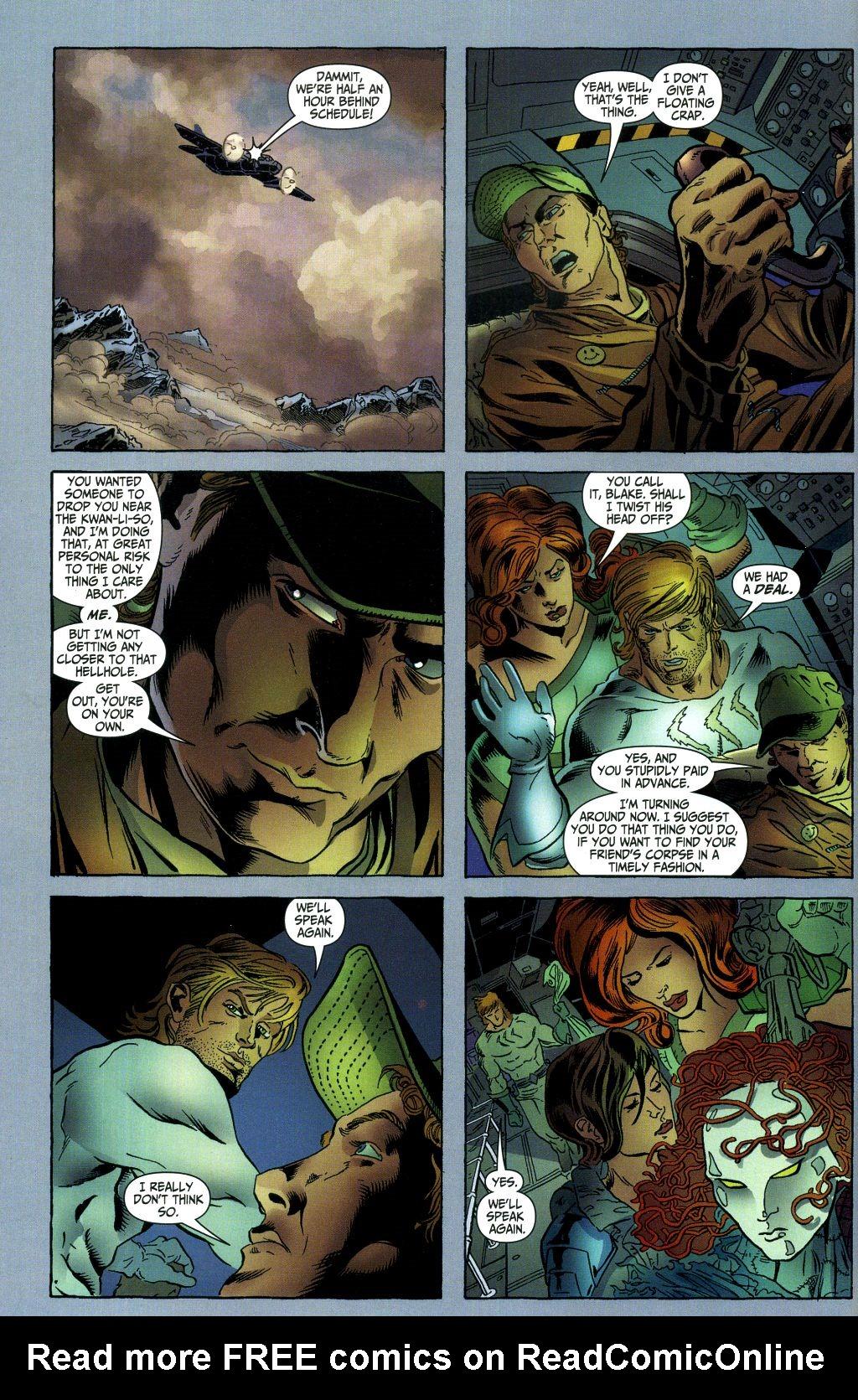 Read online Secret Six (2006) comic -  Issue #1 - 5