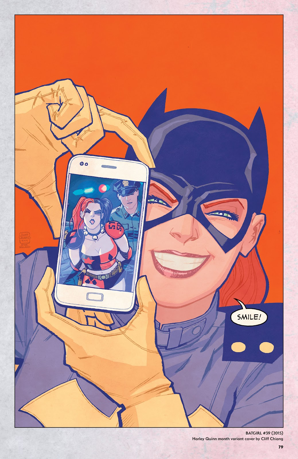 Read online Harley Quinn: A Rogue's Gallery―The Deluxe Cover Art Collection comic -  Issue # TPB (Part 1) - 76