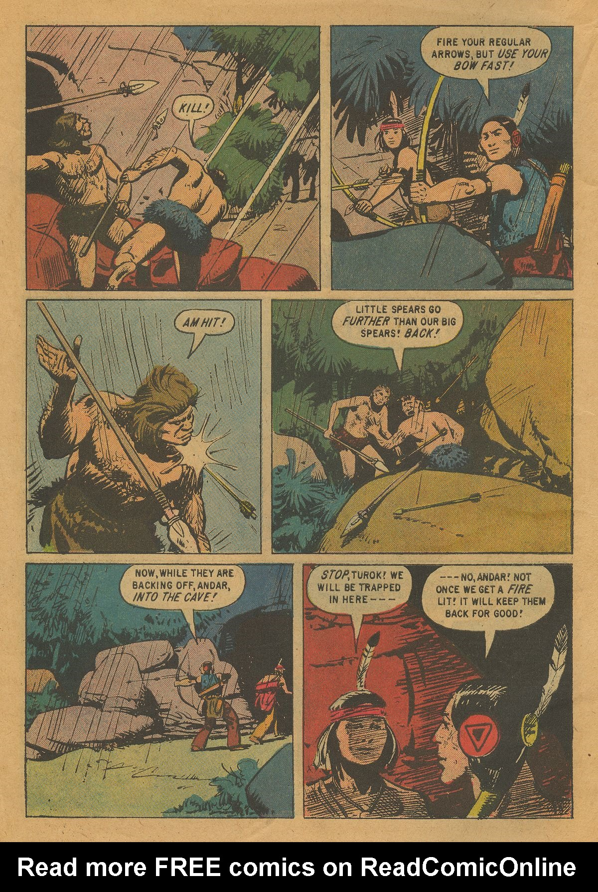 Read online Turok, Son of Stone comic -  Issue #22 - 6