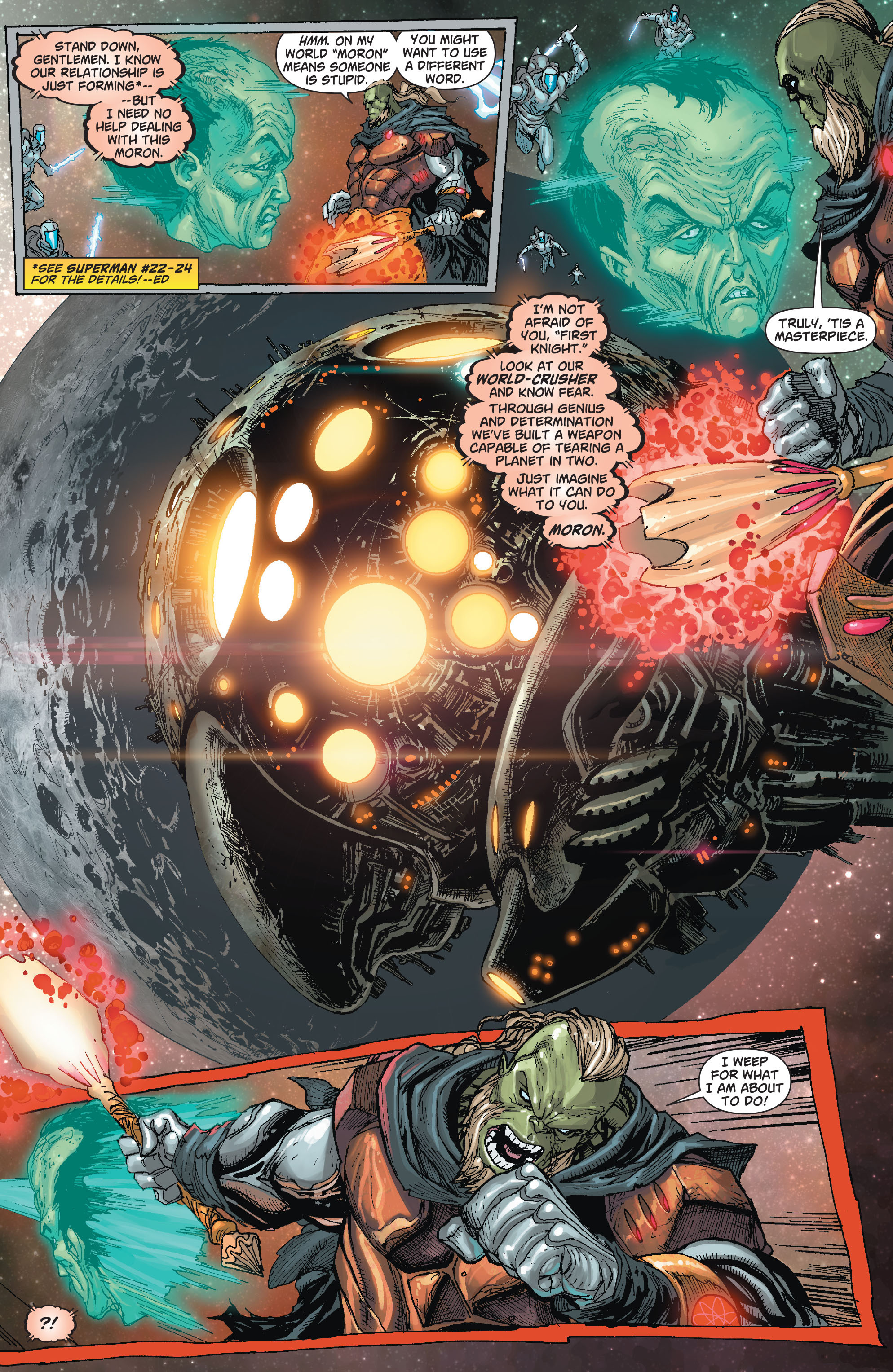 Read online Action Comics (2011) comic -  Issue #22 - 6