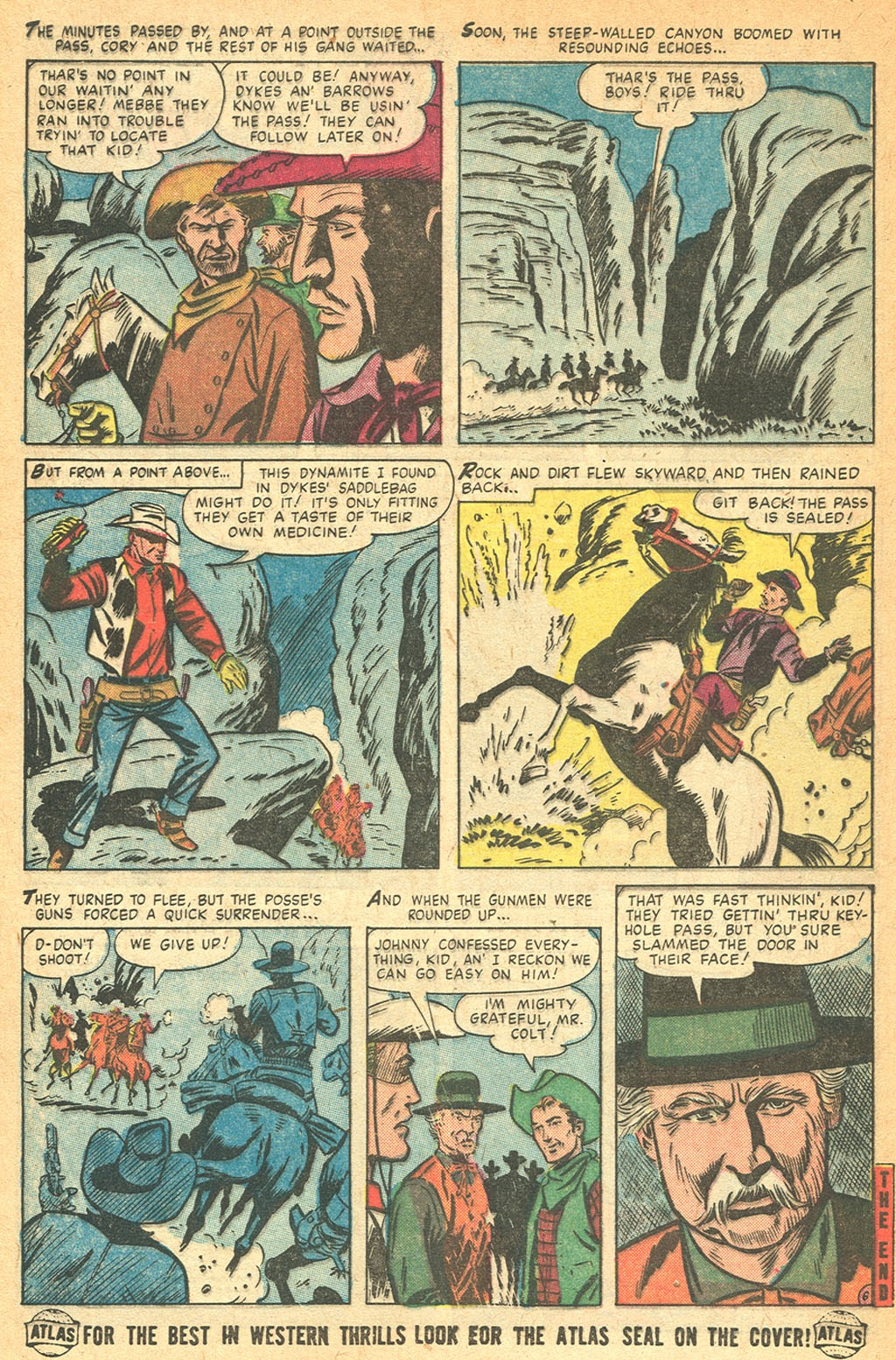 Kid Colt Outlaw issue 53 - Page 8