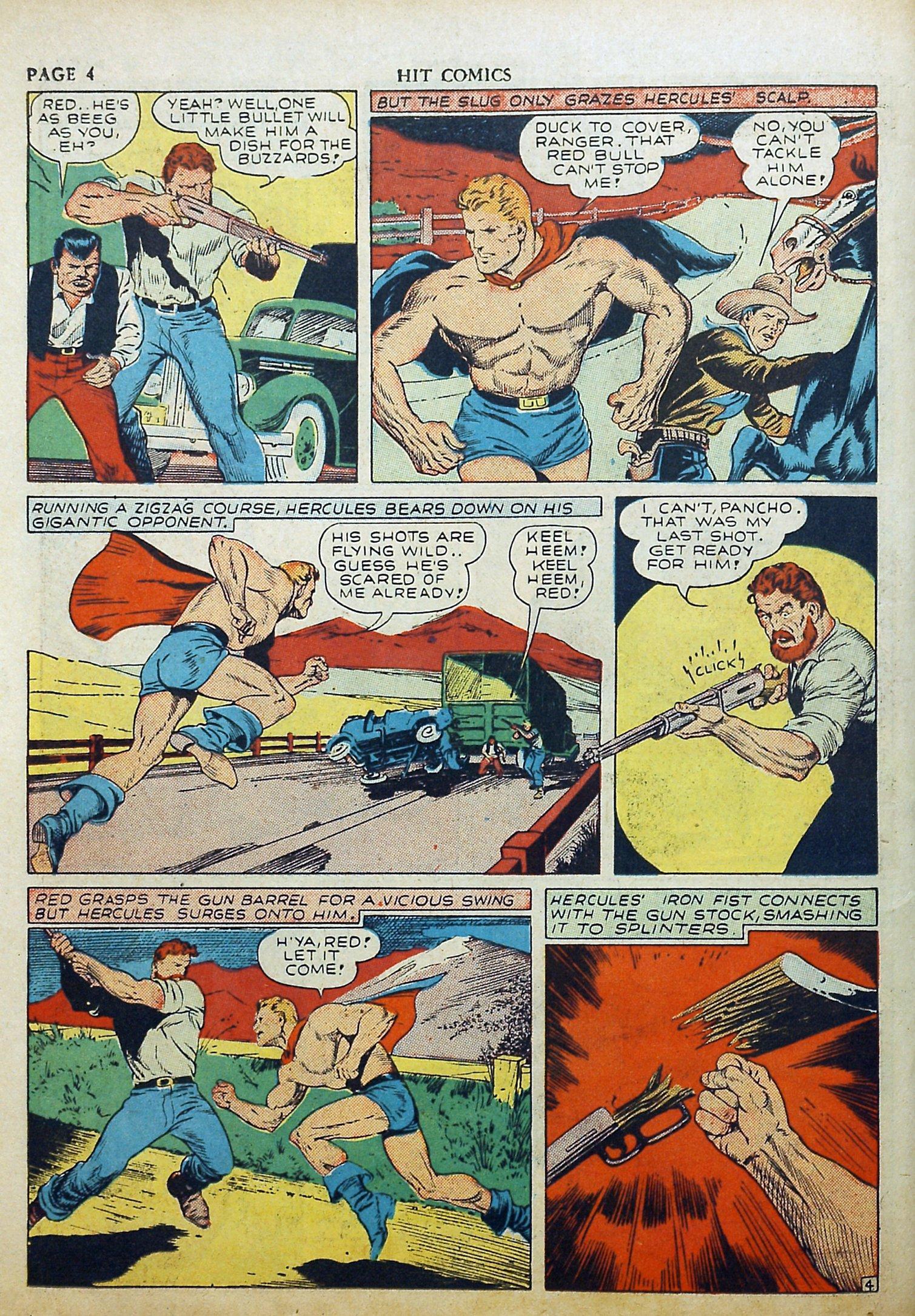 Read online Hit Comics comic -  Issue #17 - 6