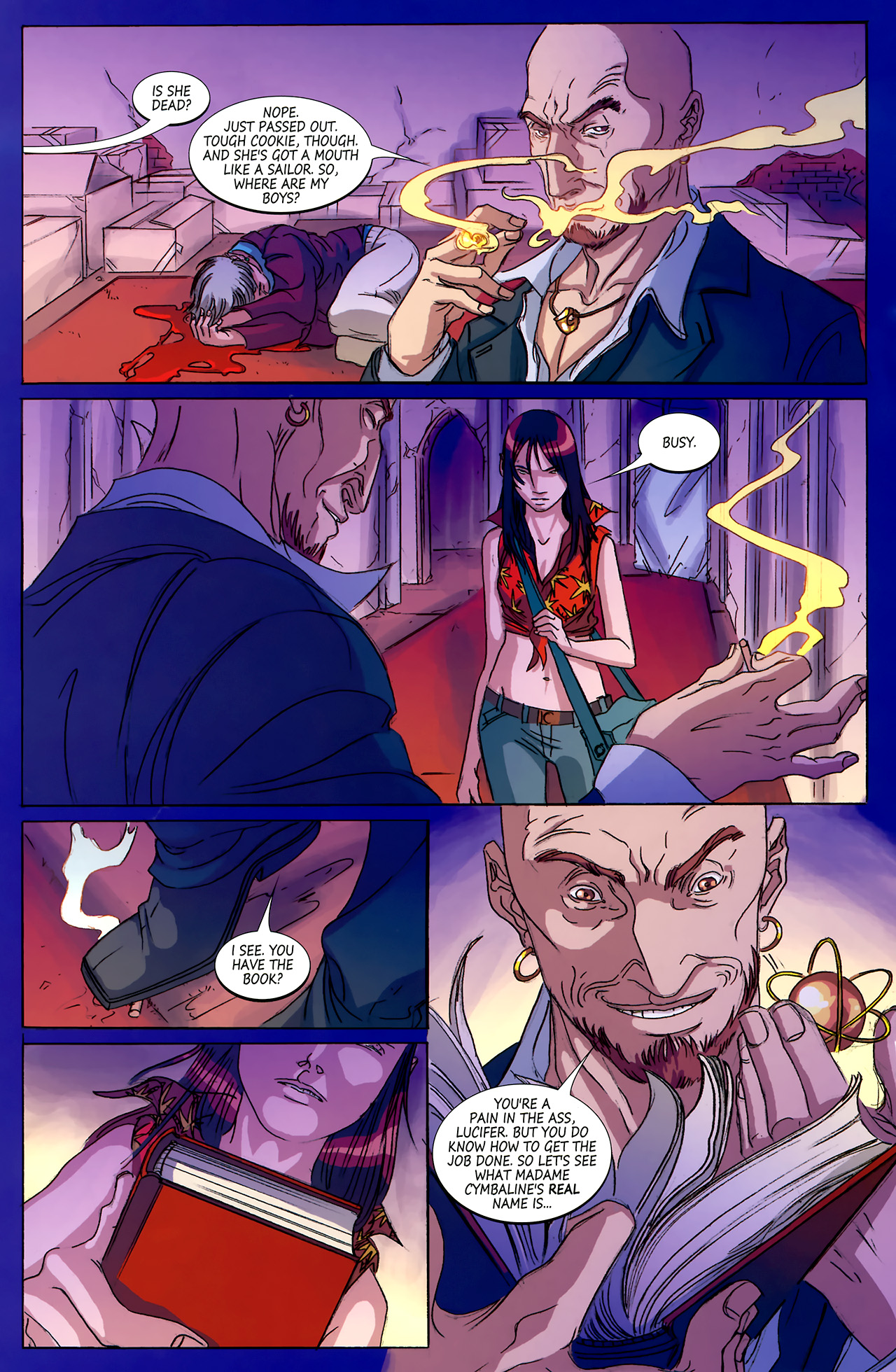 Read online Hexed comic -  Issue #4 - 16