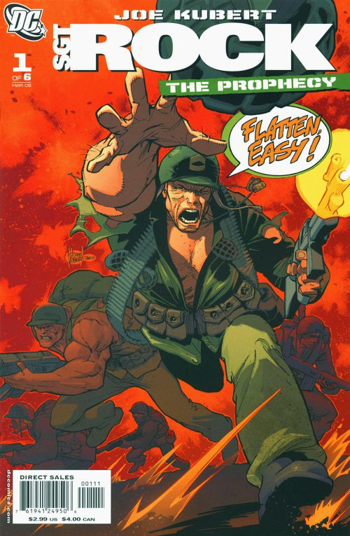 Read online Sgt. Rock: The Prophecy comic -  Issue #1 - 2