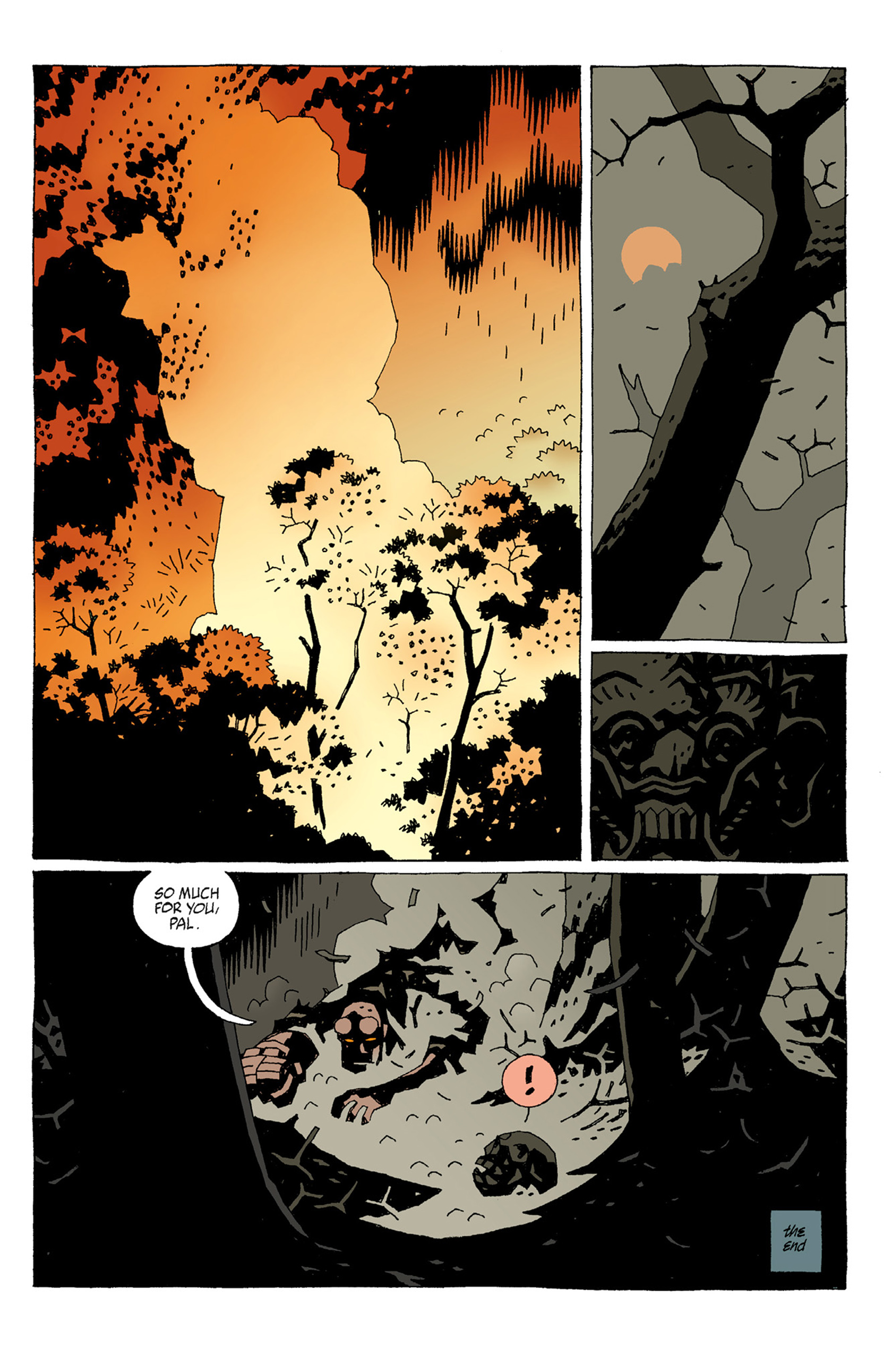 Read online Hellboy: The Troll Witch and Others comic -  Issue # TPB - 15