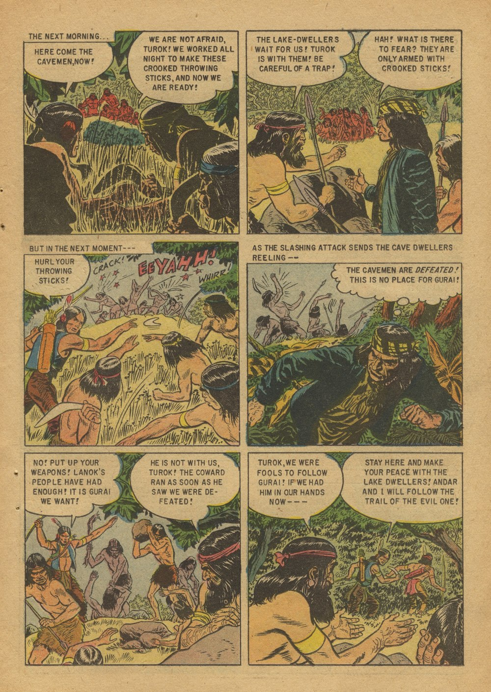 Read online Turok, Son of Stone comic -  Issue #12 - 11