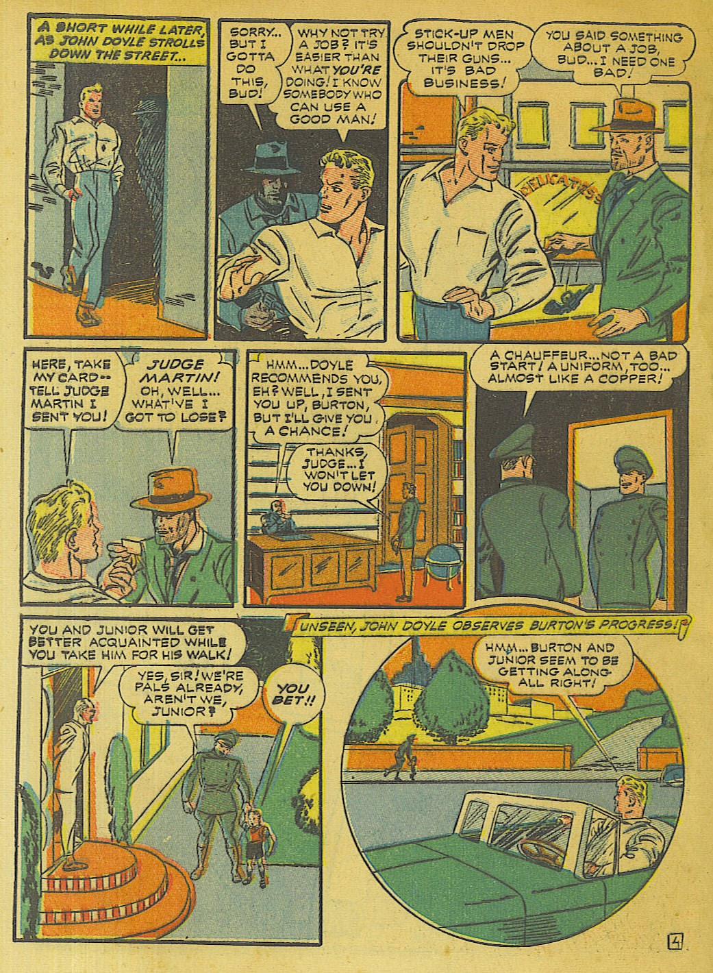Green Hornet Comics issue 10 - Page 39