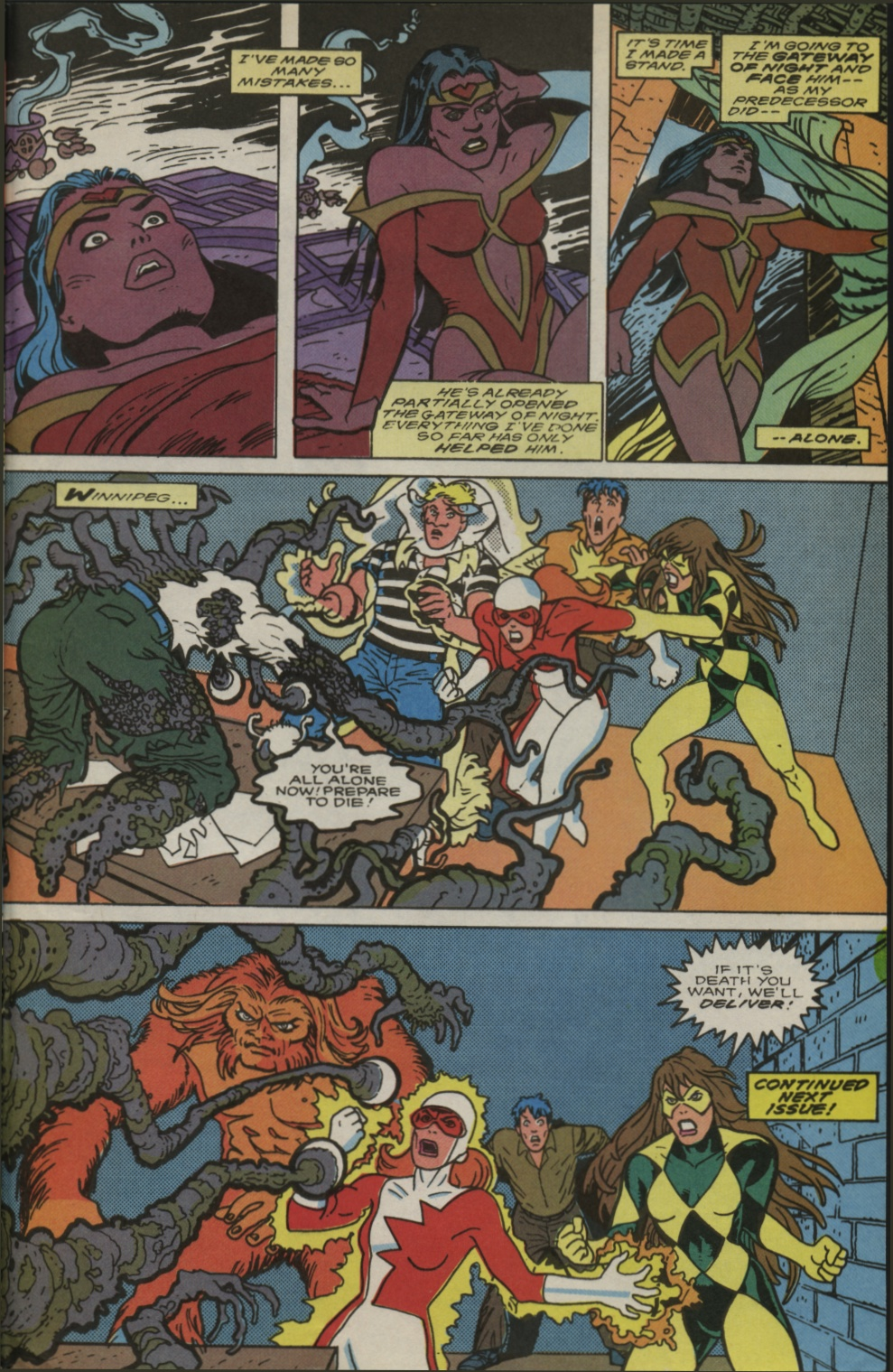 Read online Alpha Flight (1983) comic -  Issue #83 - 25