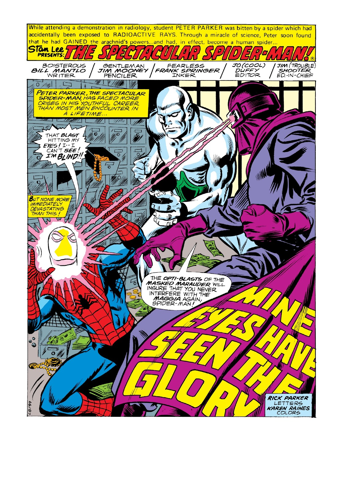 Read online Marvel Masterworks: The Spectacular Spider-Man comic -  Issue # TPB 2 (Part 2) - 90