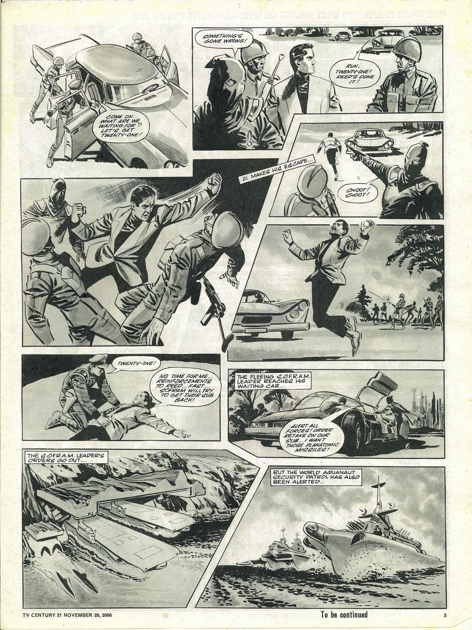 Read online TV Century 21 (TV 21) comic -  Issue #97 - 3