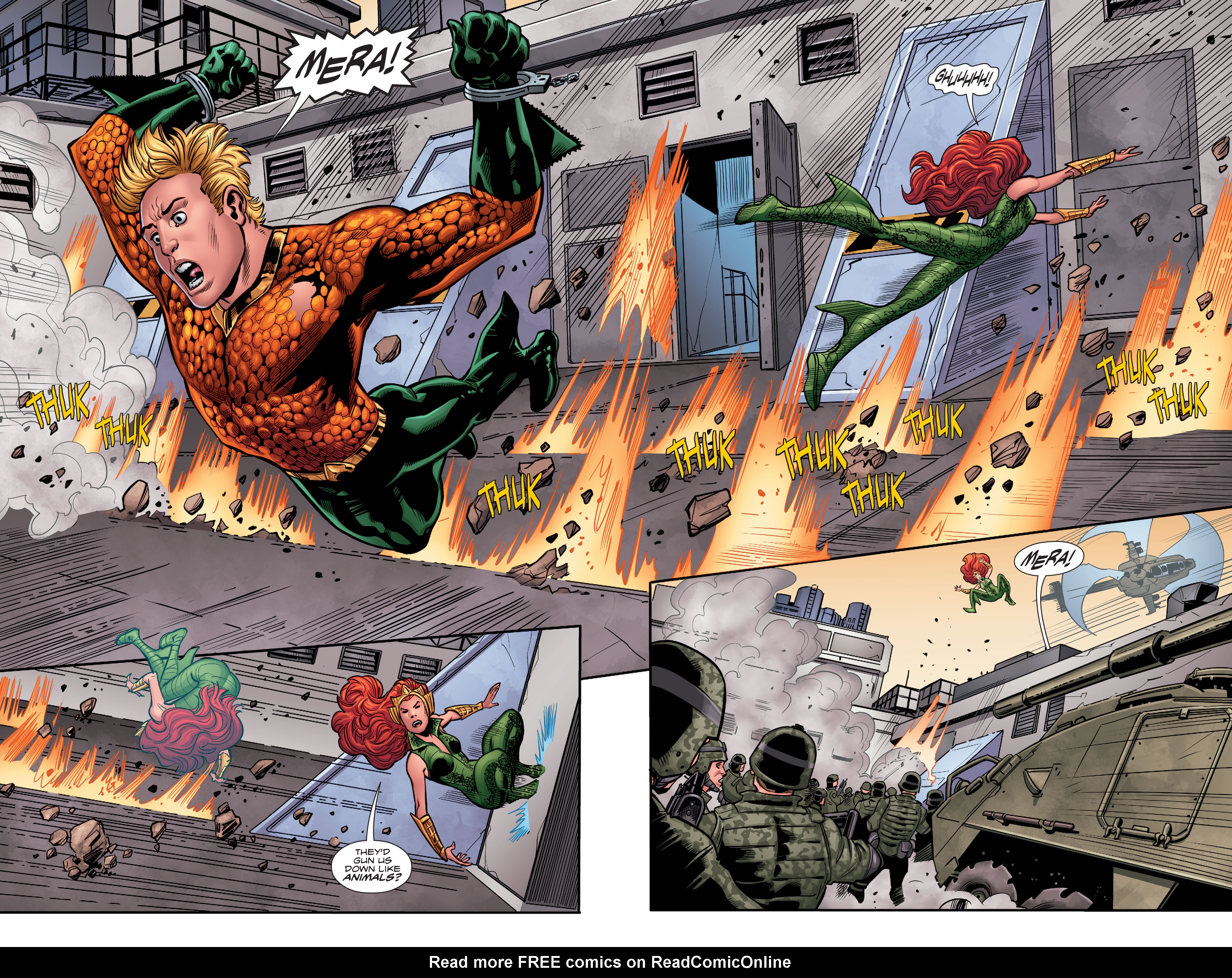 Read online Aquaman (2016) comic -  Issue #5 - 5