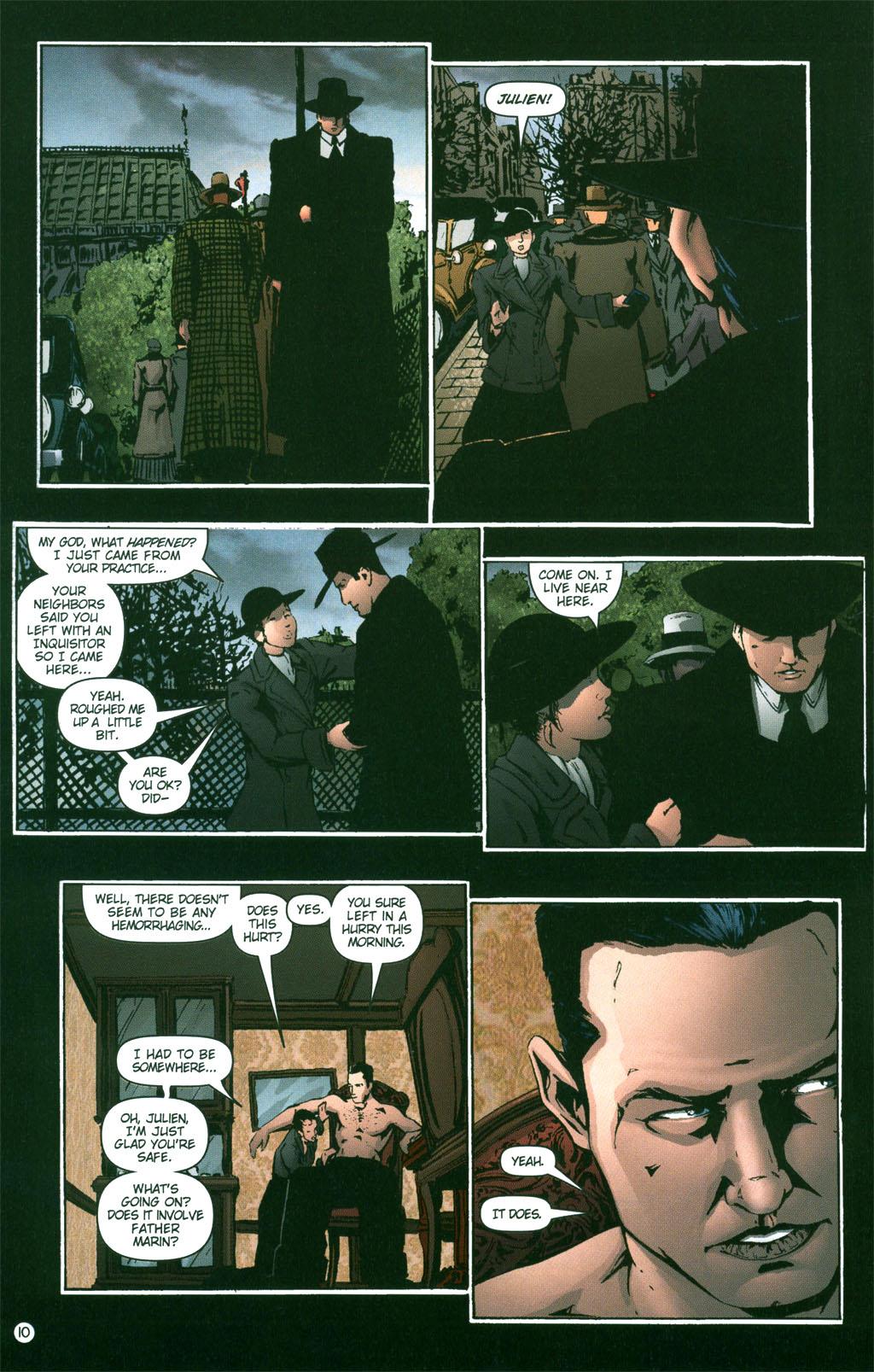 Read online Rex Mundi comic -  Issue #3 - 12