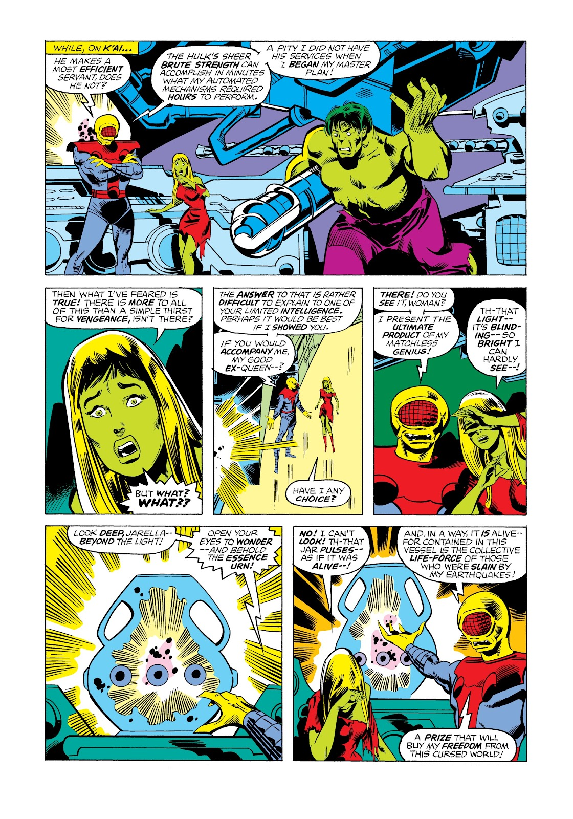 Read online Marvel Masterworks: The Incredible Hulk comic -  Issue # TPB 12 (Part 2) - 63