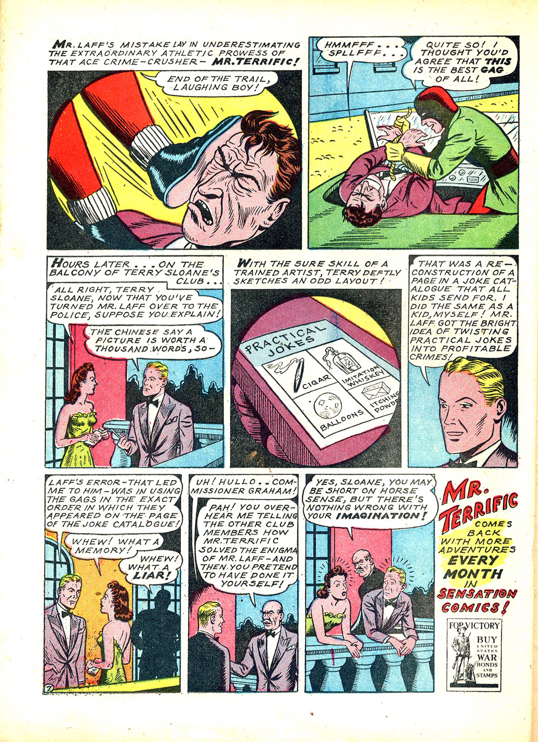 Read online Sensation (Mystery) Comics comic -  Issue #12 - 42