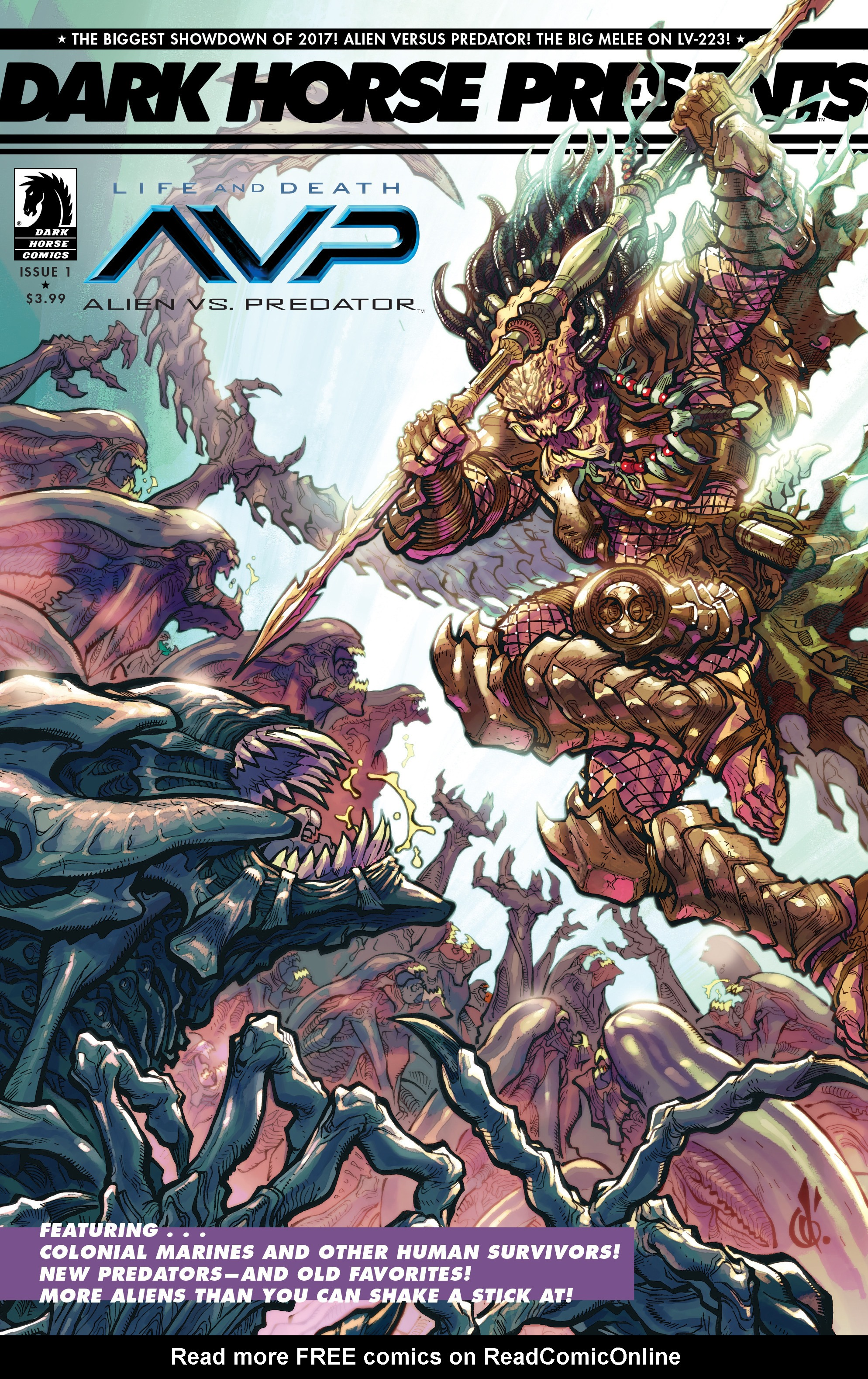 Read online Alien Vs. Predator: Life and Death comic -  Issue #1 - 3