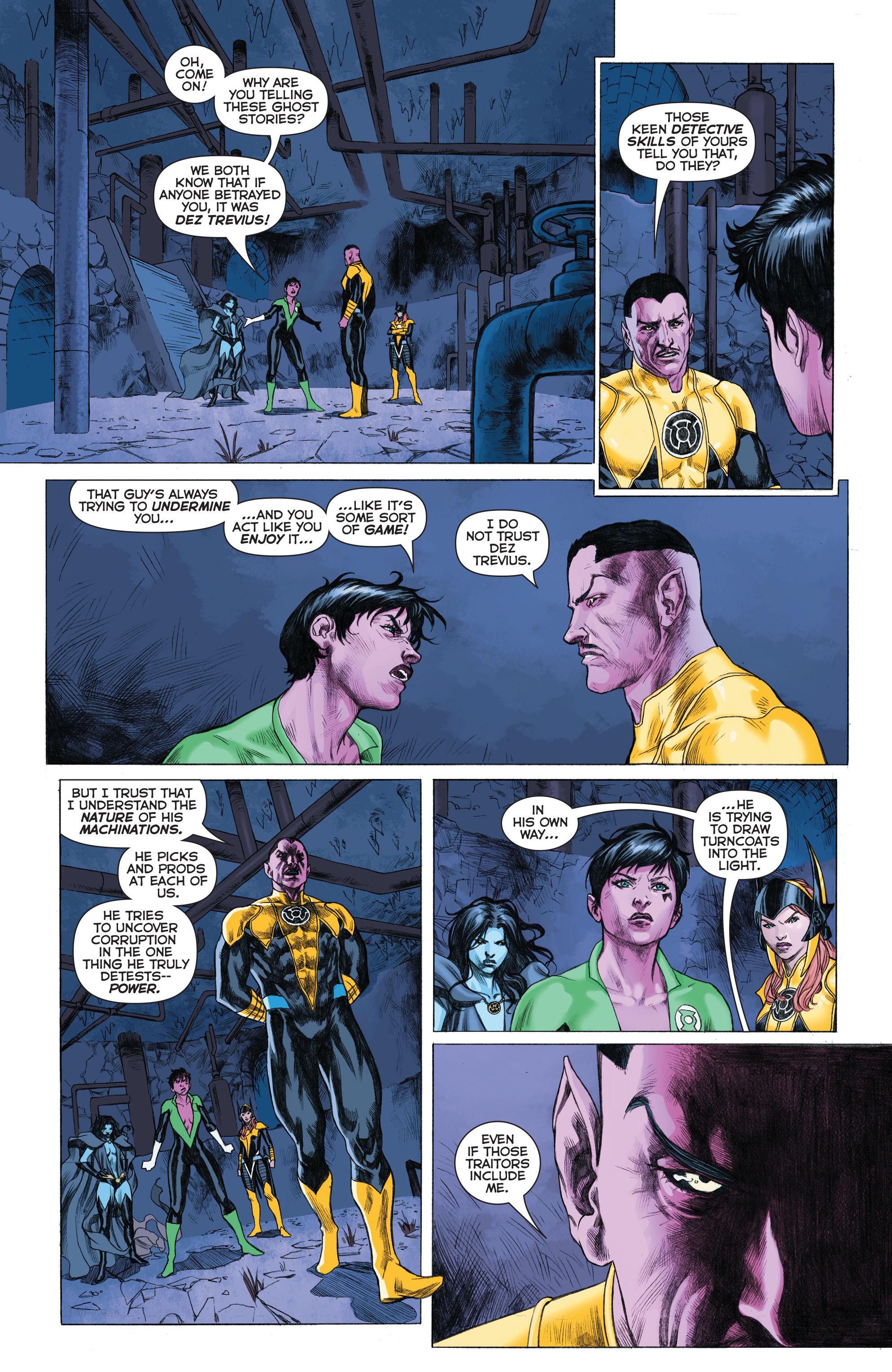 Read online Sinestro comic -  Issue # Annual 1 - 32
