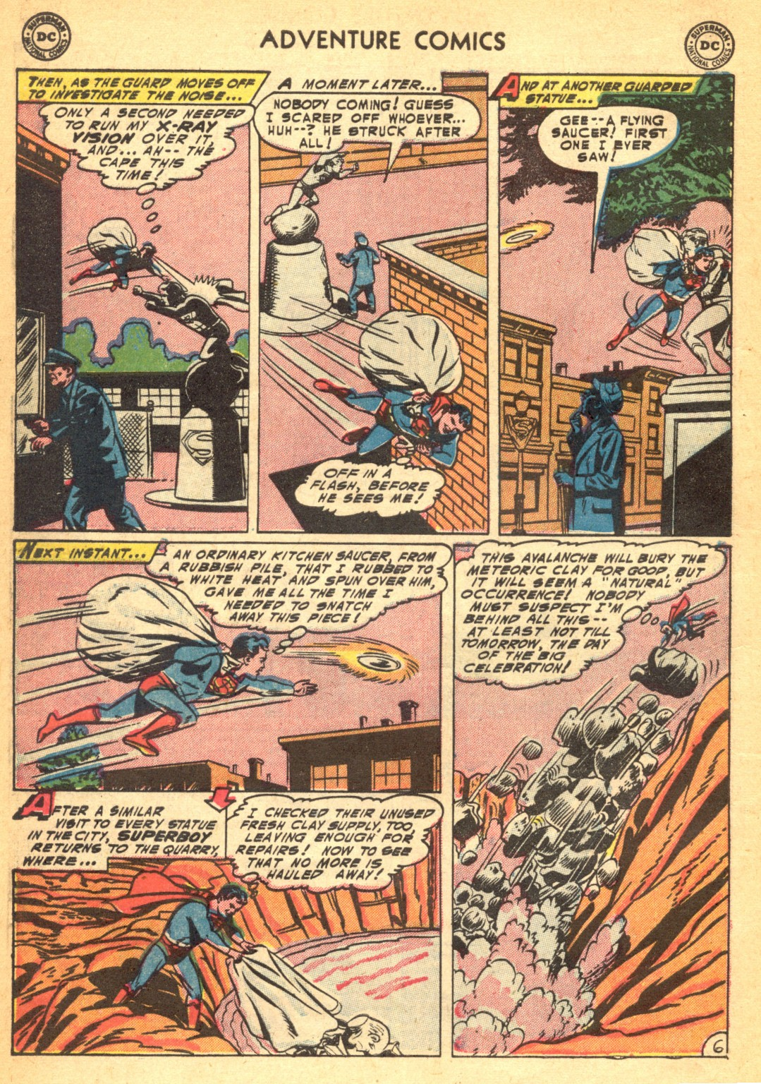 Read online Adventure Comics (1938) comic -  Issue #202 - 8