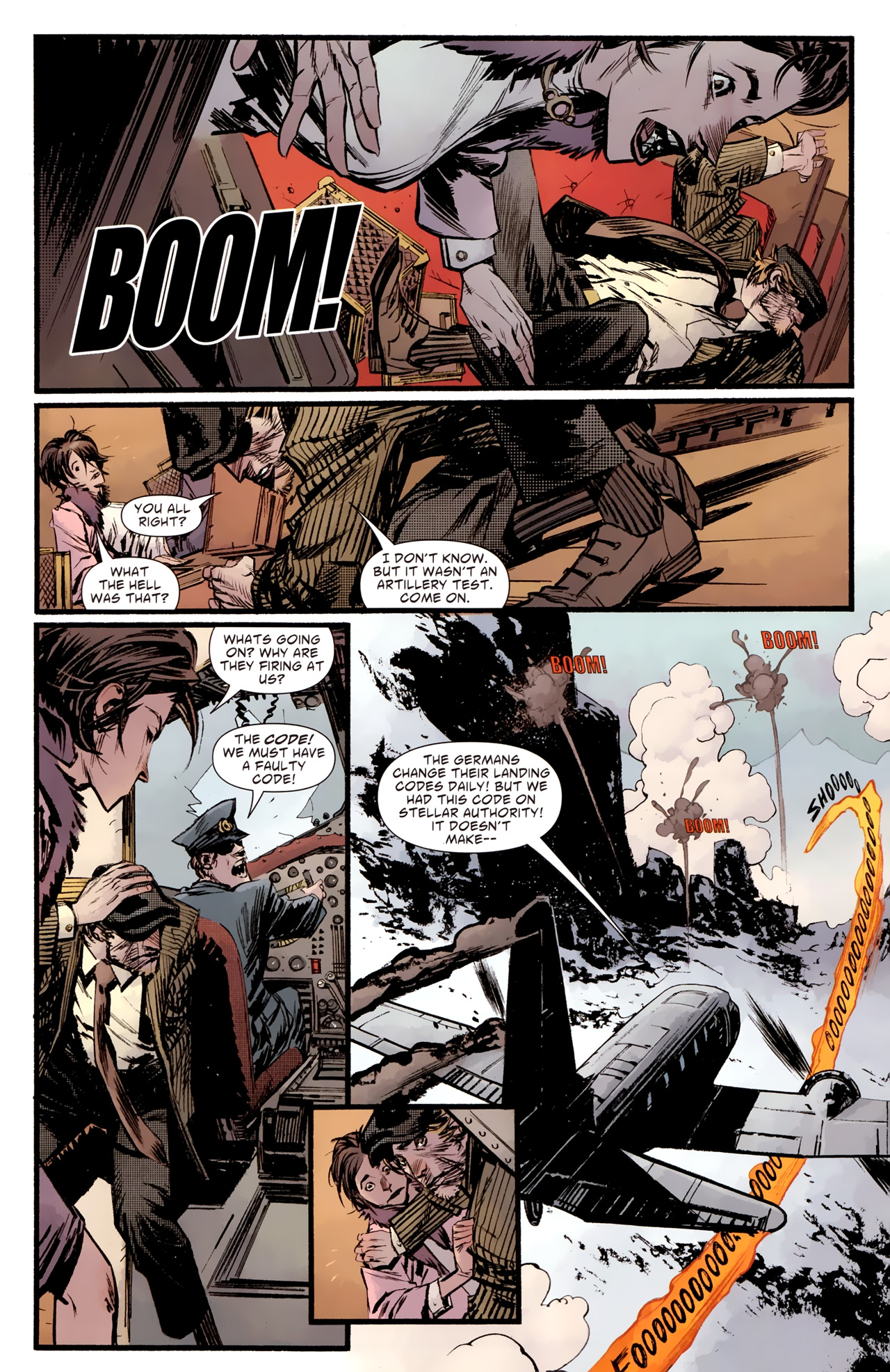 Read online American Vampire: Survival of the Fittest comic -  Issue #2 - 8